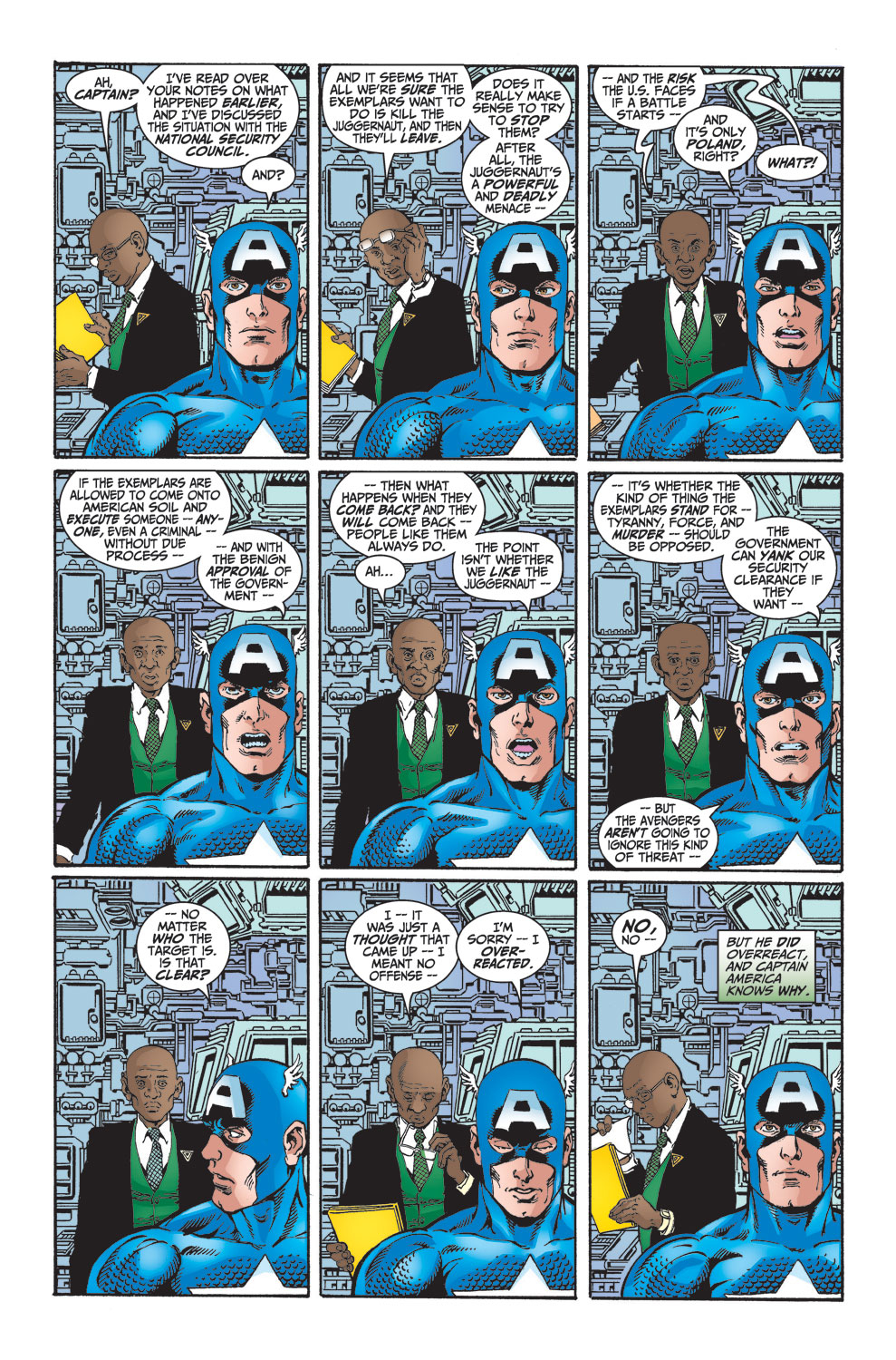 Read online Avengers (1998) comic -  Issue #25 - 14
