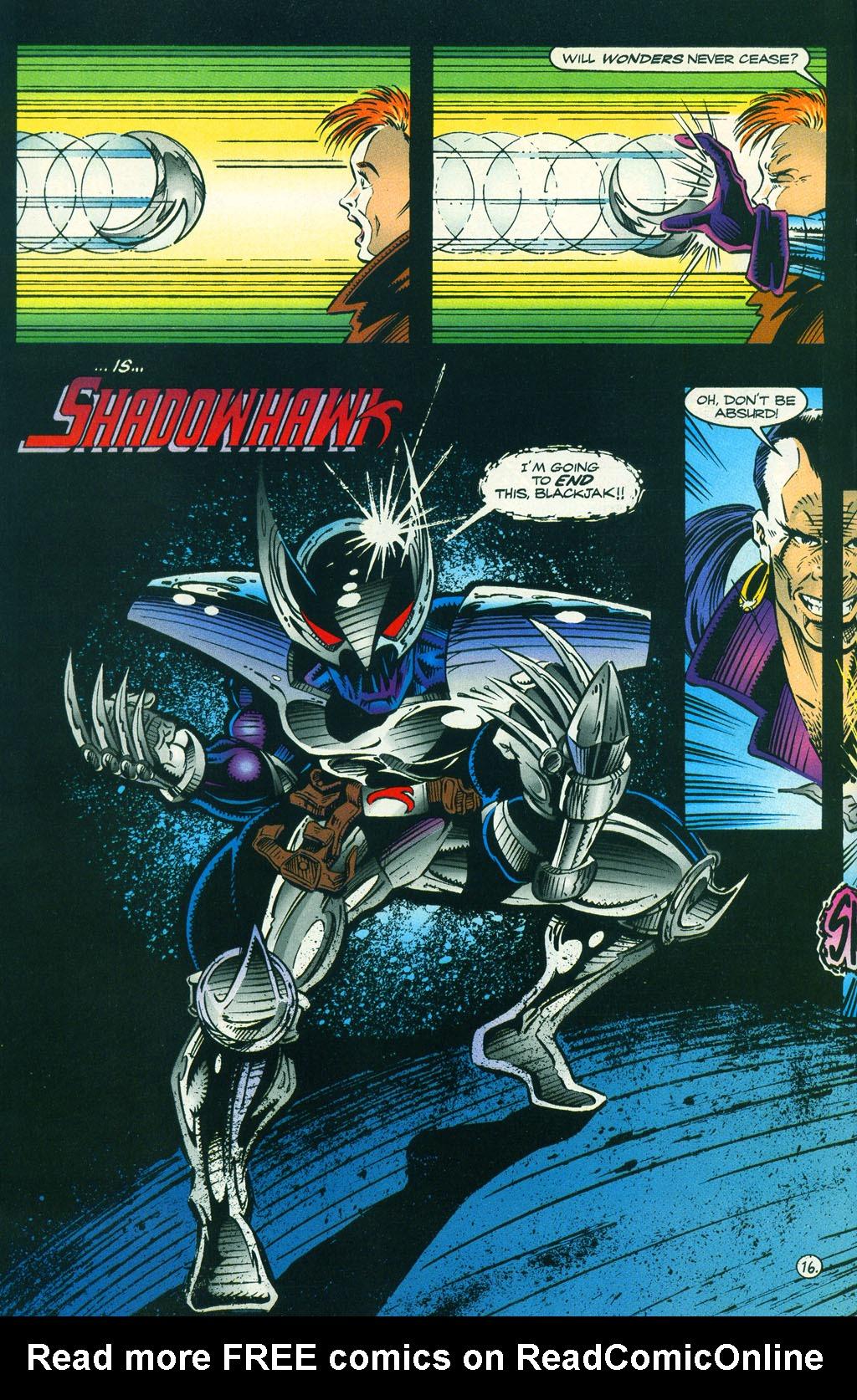 Read online ShadowHawk comic -  Issue #5 - 21