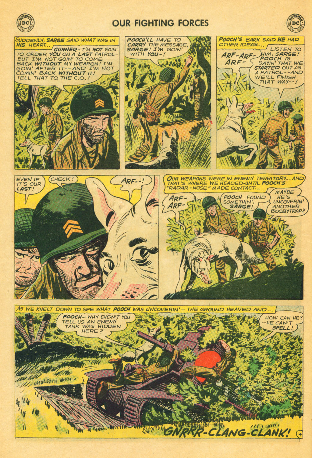 Our Fighting Forces (1954) issue 80 - Page 6