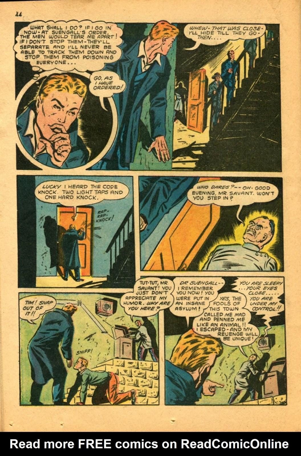 Read online Super-Magician Comics comic -  Issue #11 - 44