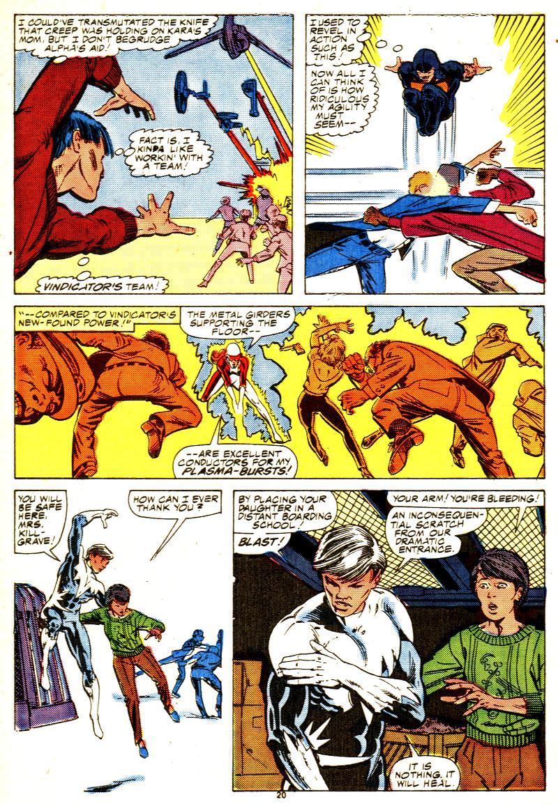 Read online Alpha Flight (1983) comic -  Issue #42 - 21