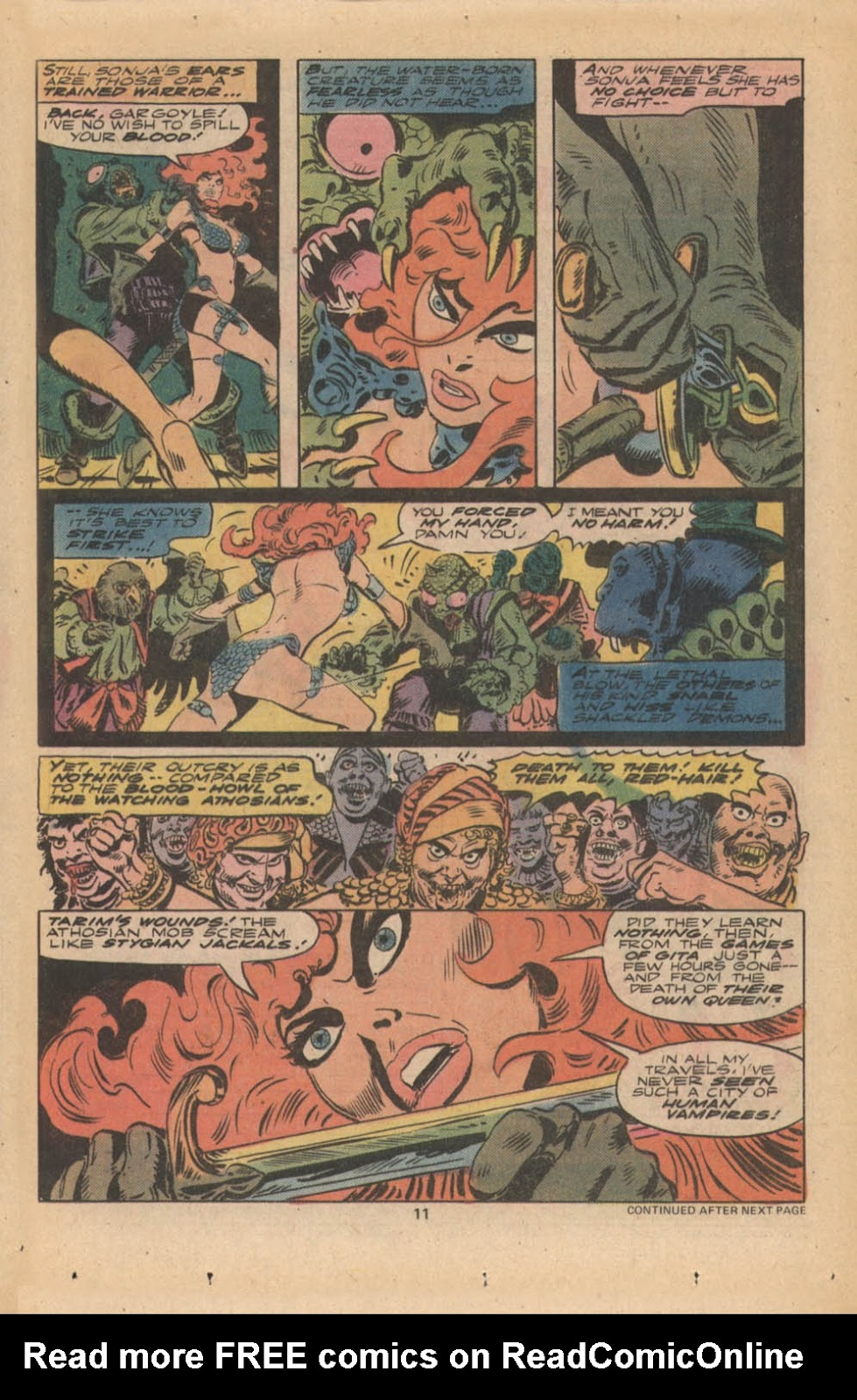 Red Sonja (1977) issue 4 - Page 8