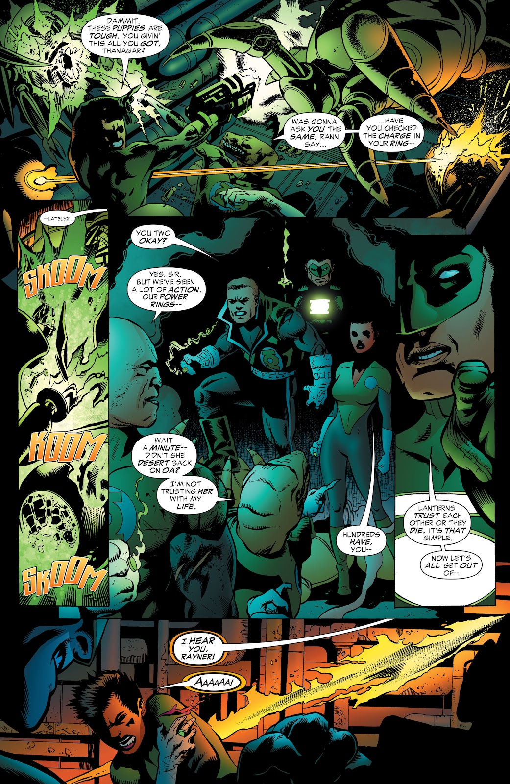 Read online Green Lantern by Geoff Johns comic -  Issue # TPB 1 (Part 3) - 61