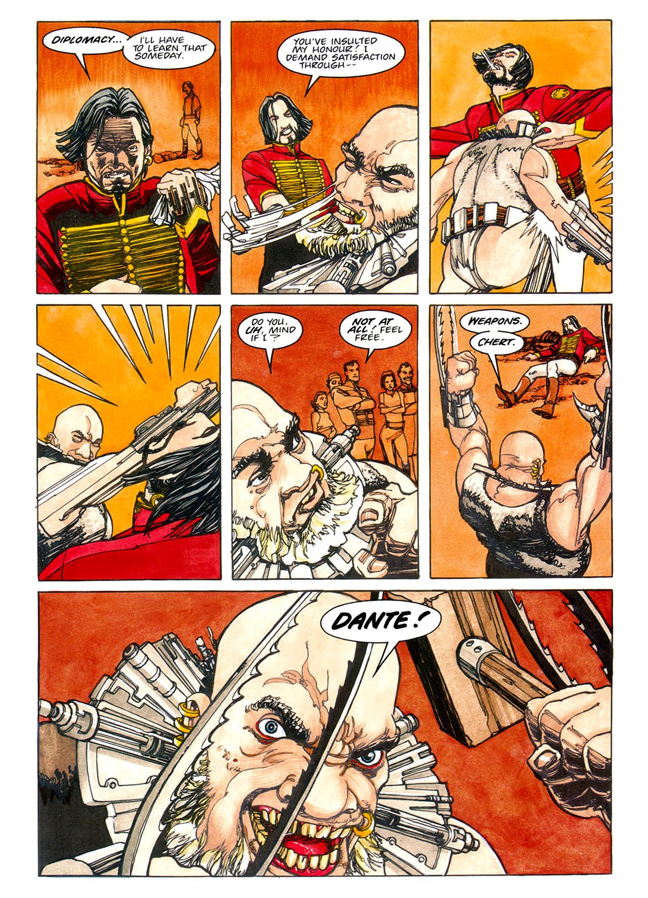 Read online Nikolai Dante comic -  Issue # TPB 1 - 80