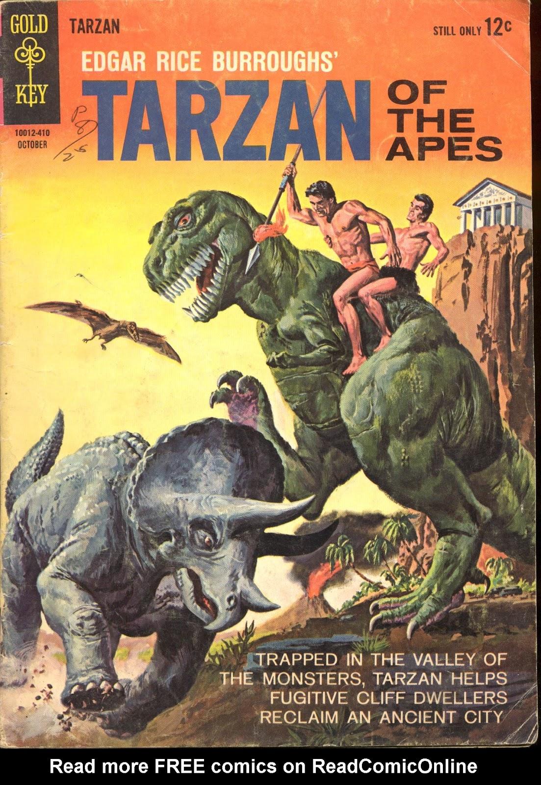 Tarzan (1962) issue 146 - Page 1
