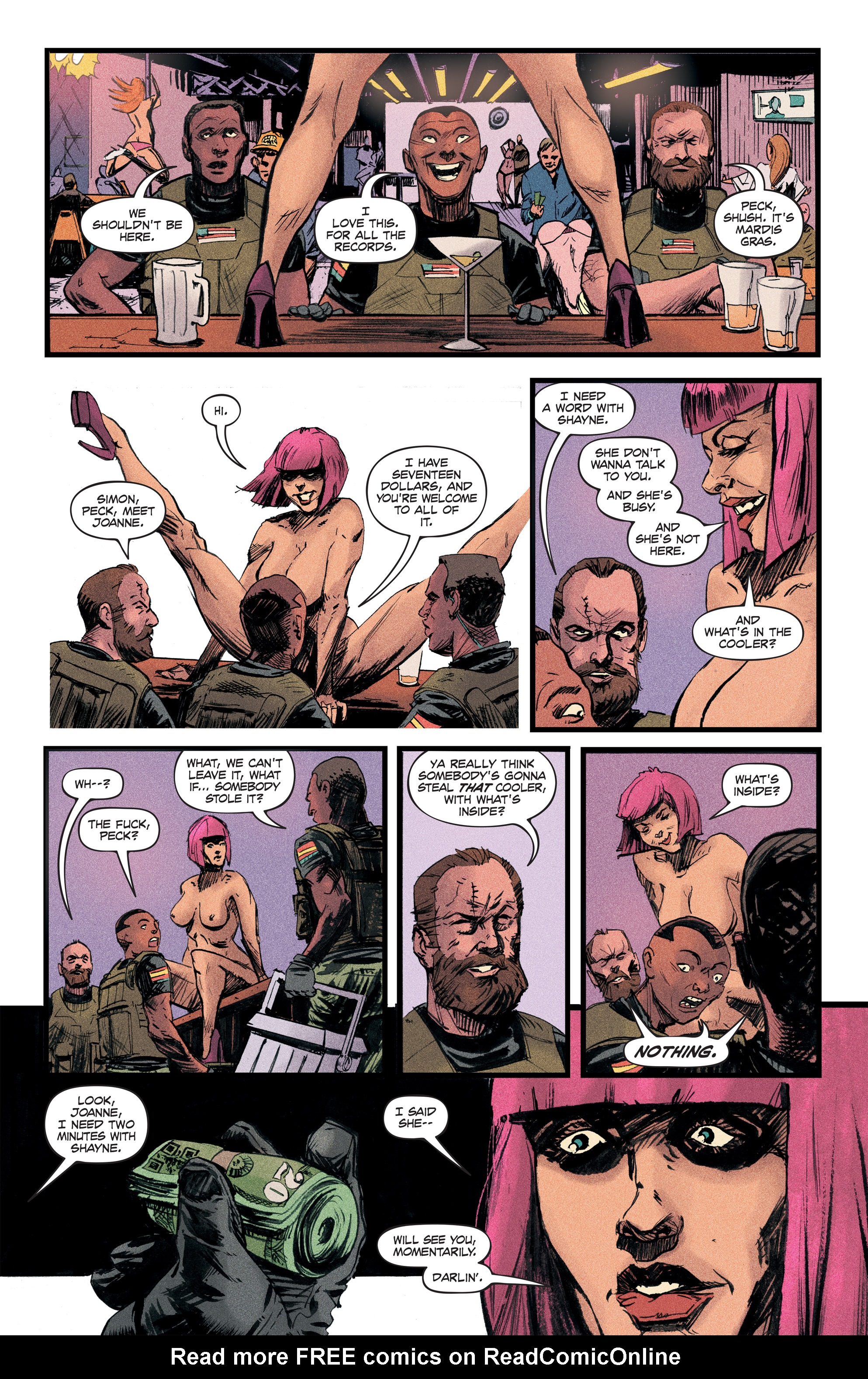 Read online Redline comic -  Issue #2 - 18
