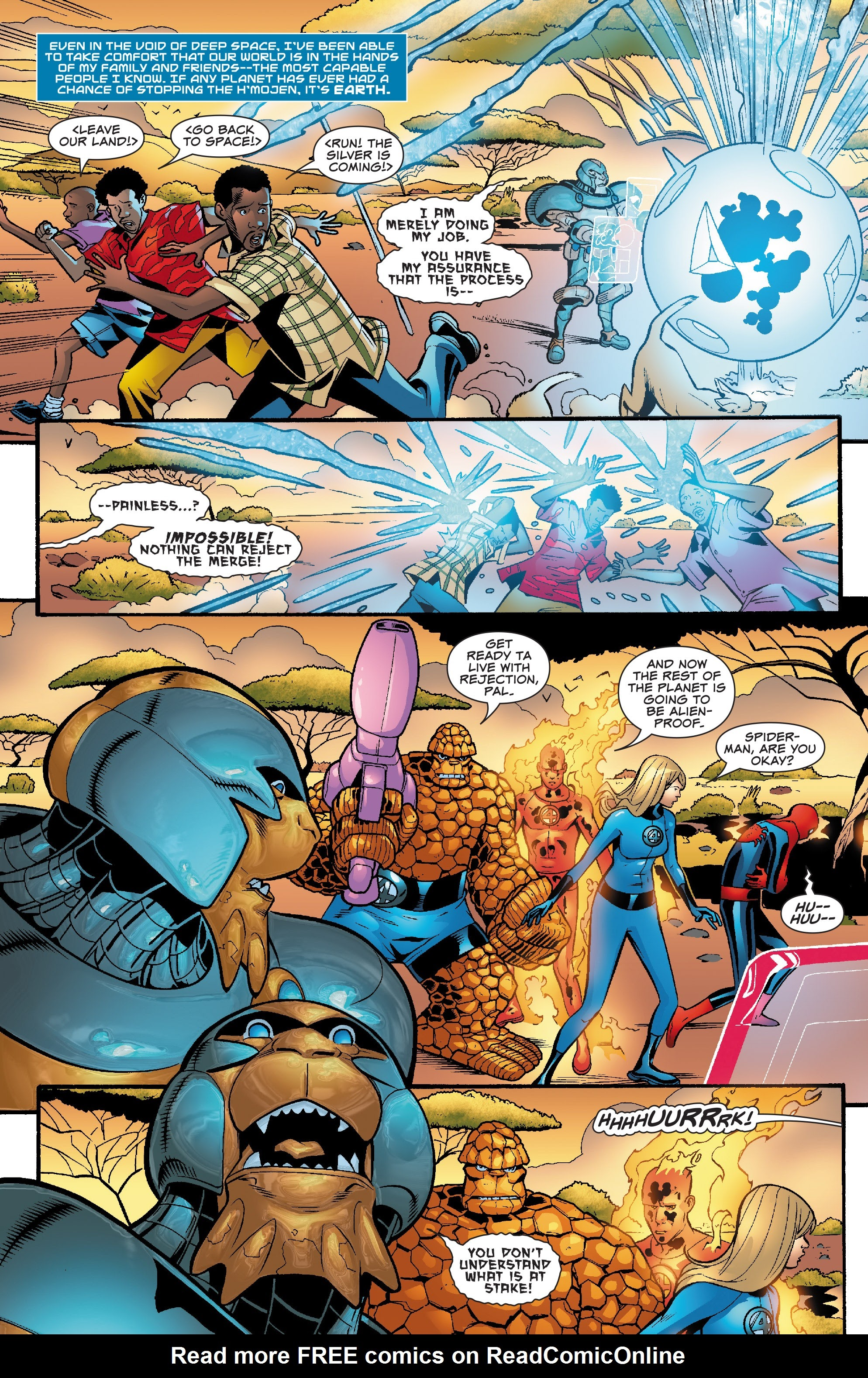 Spider-Man and the Fantastic Four issue 3 - Page 23