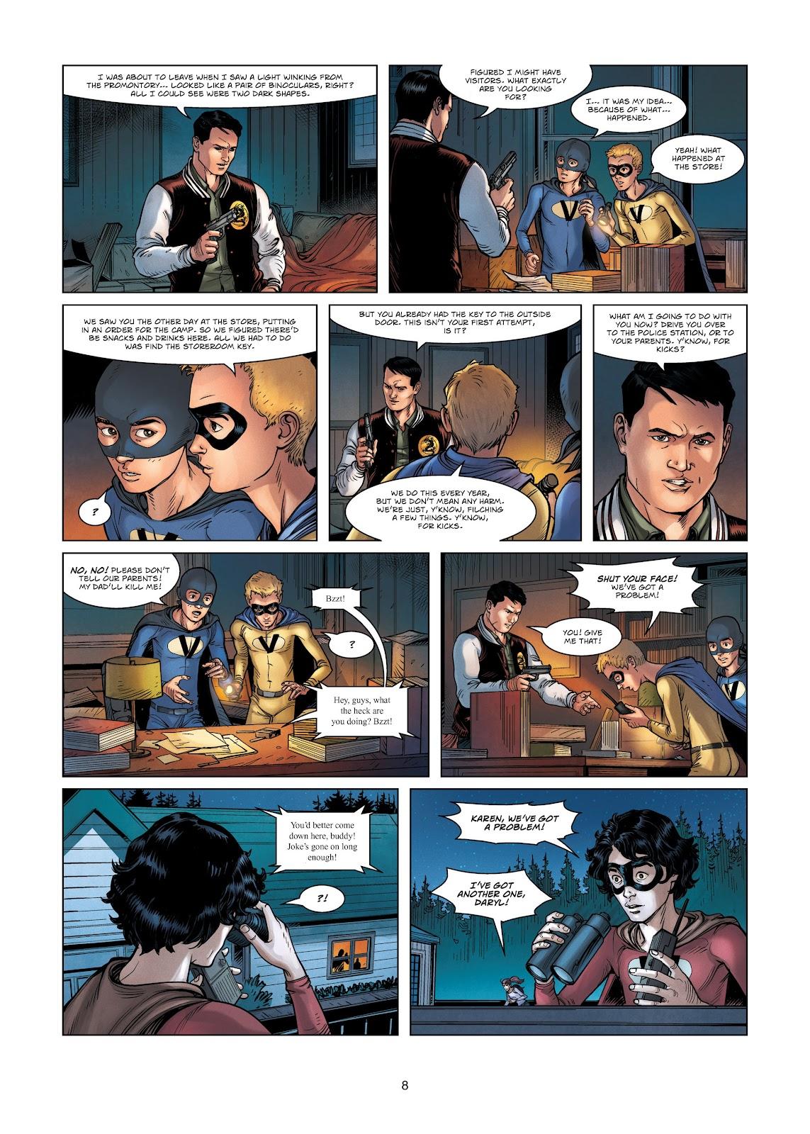 Read online Vigilantes comic -  Issue #3 - 8
