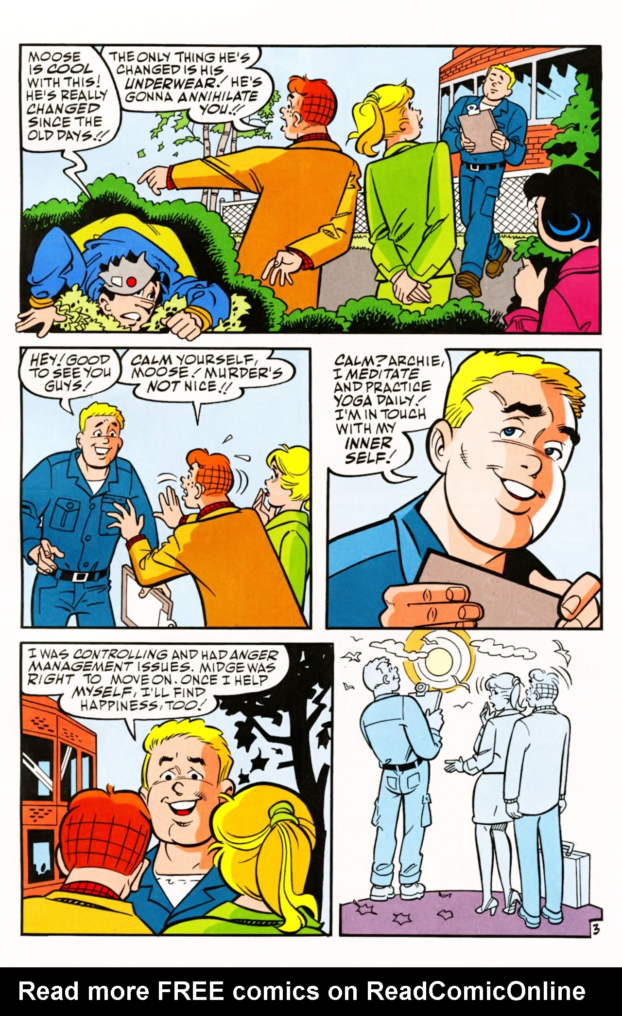 Read online Archie (1960) comic -  Issue #605 - 6