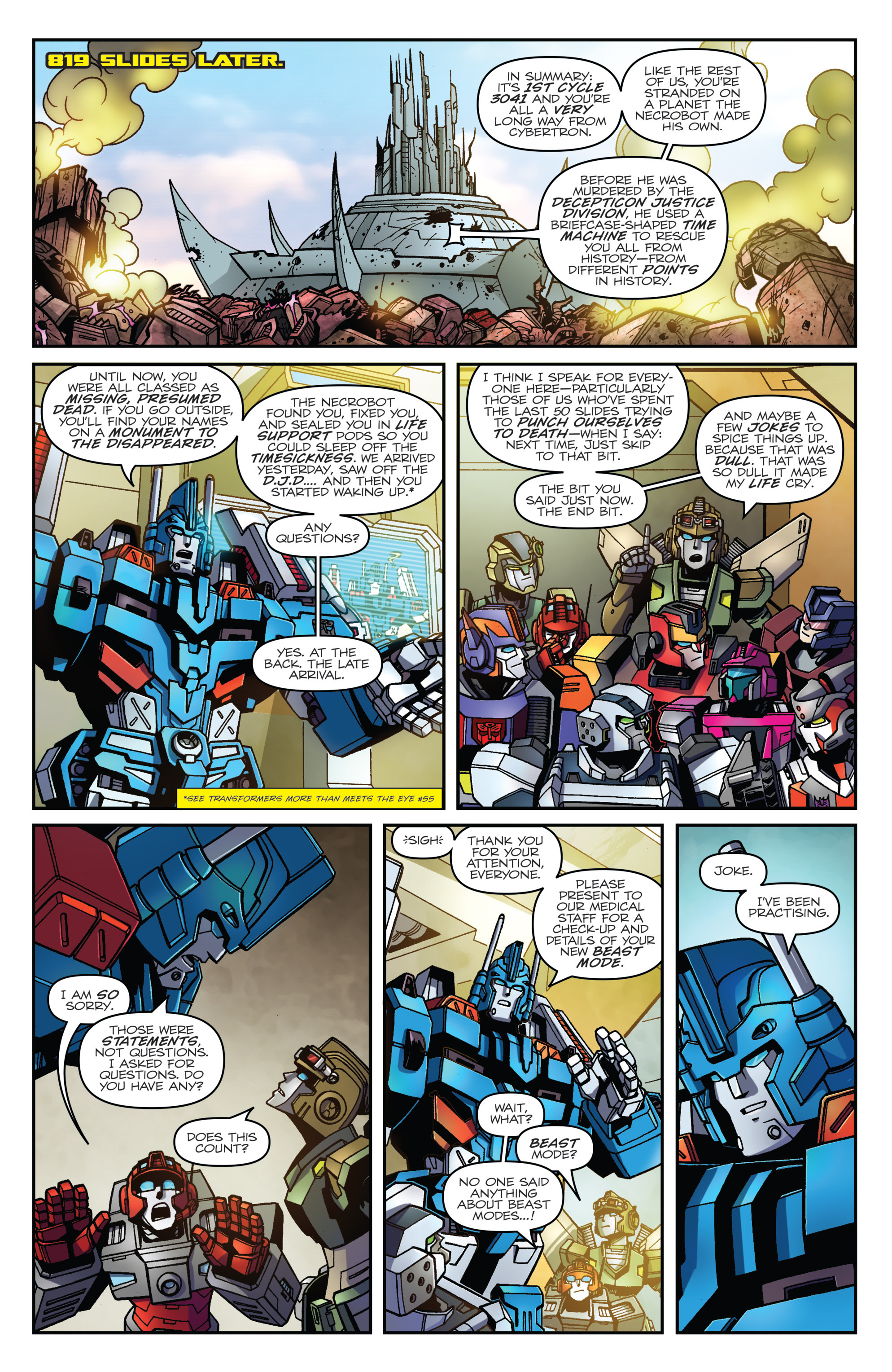 Read online Transformers: Lost Light comic -  Issue #1 - 9