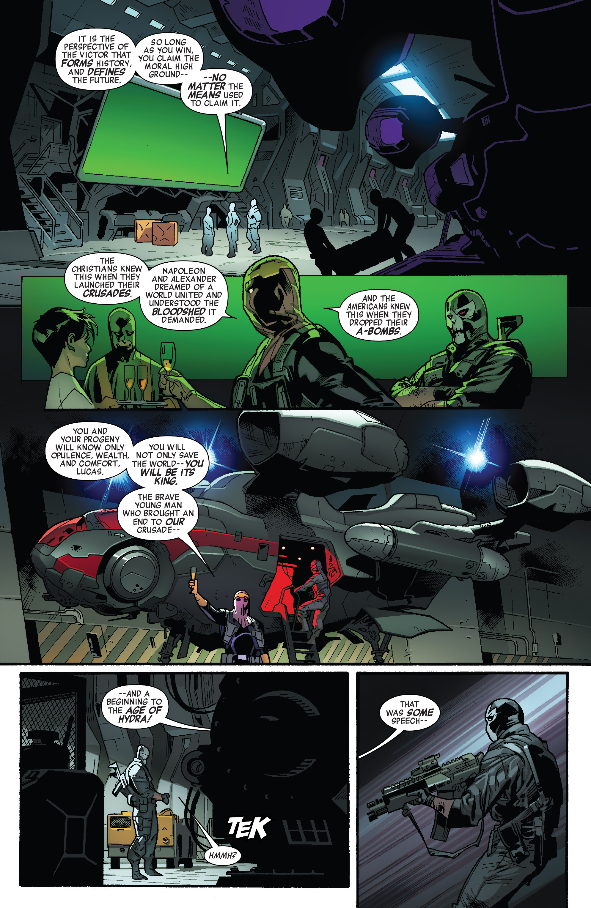 Read online All-New Captain America comic -  Issue #4 - 15