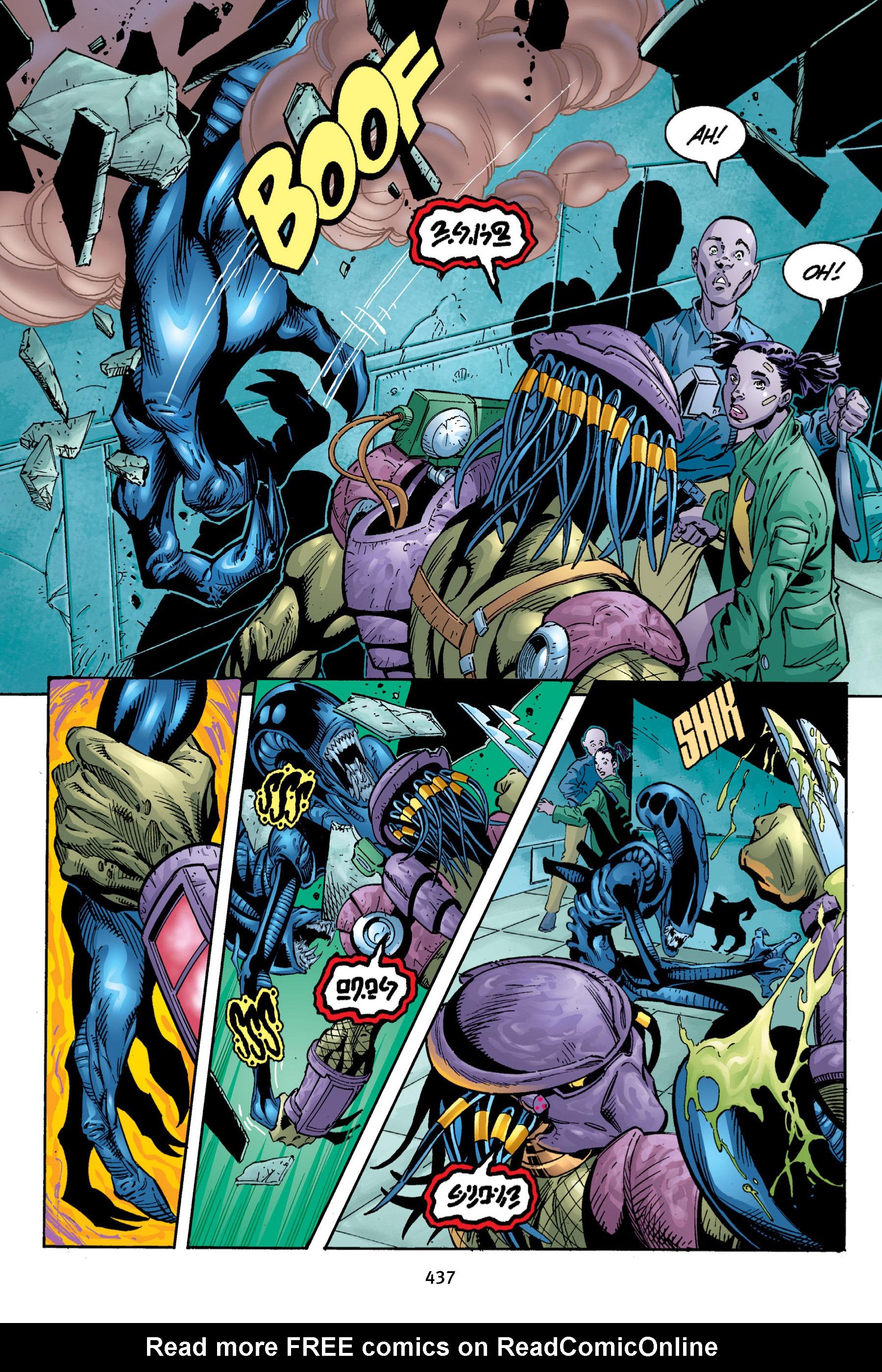 Read online Aliens vs. Predator Omnibus comic -  Issue # _TPB 2 Part 4 - 99