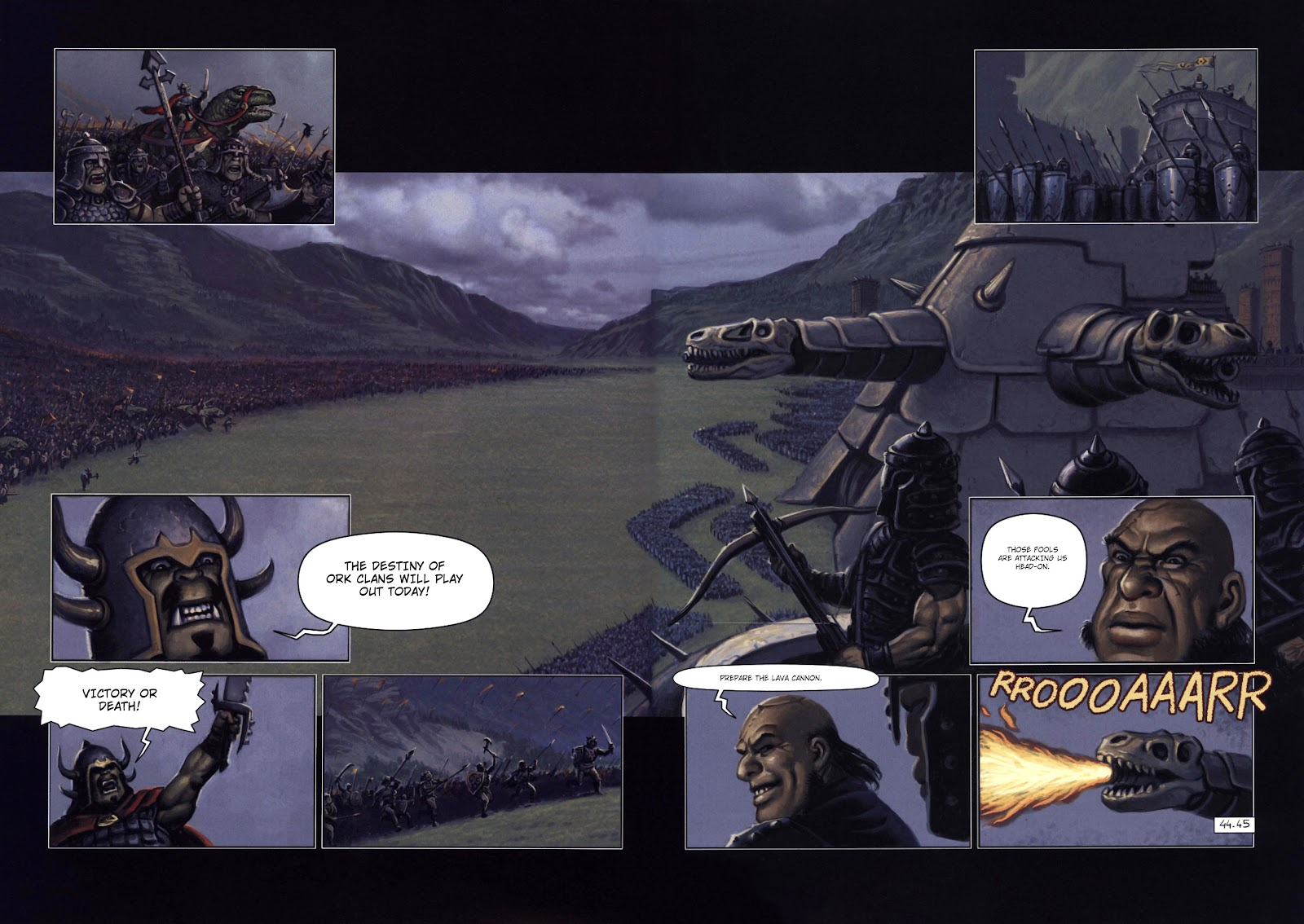 Read online Orks comic -  Issue #2 - 46