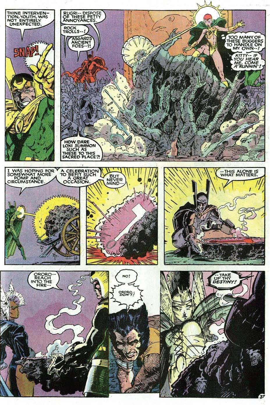 Read online Uncanny X-Men (1963) comic -  Issue # _Annual 9 - 39