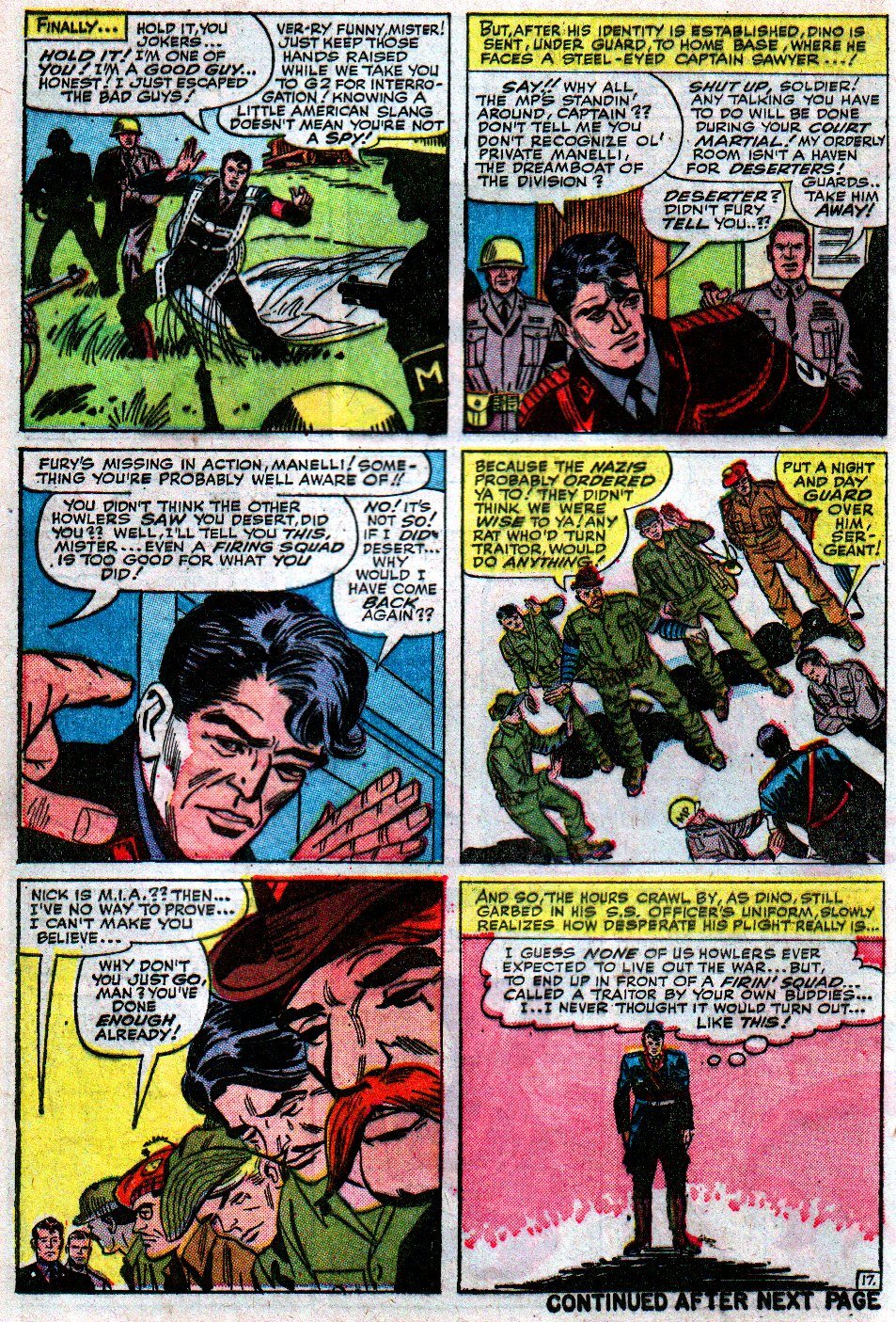 Read online Sgt. Fury comic -  Issue #12 - 24