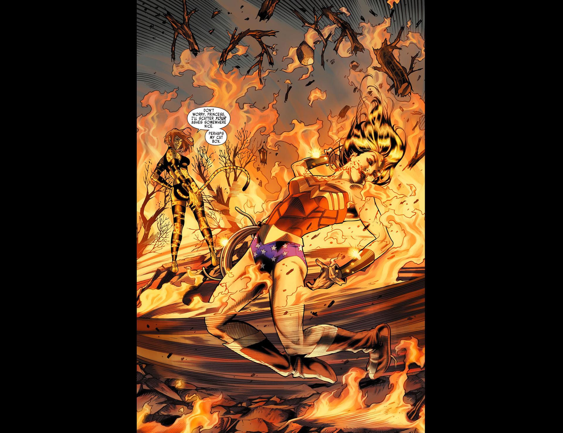 Read online Sensation Comics Featuring Wonder Woman comic -  Issue #13 - 14