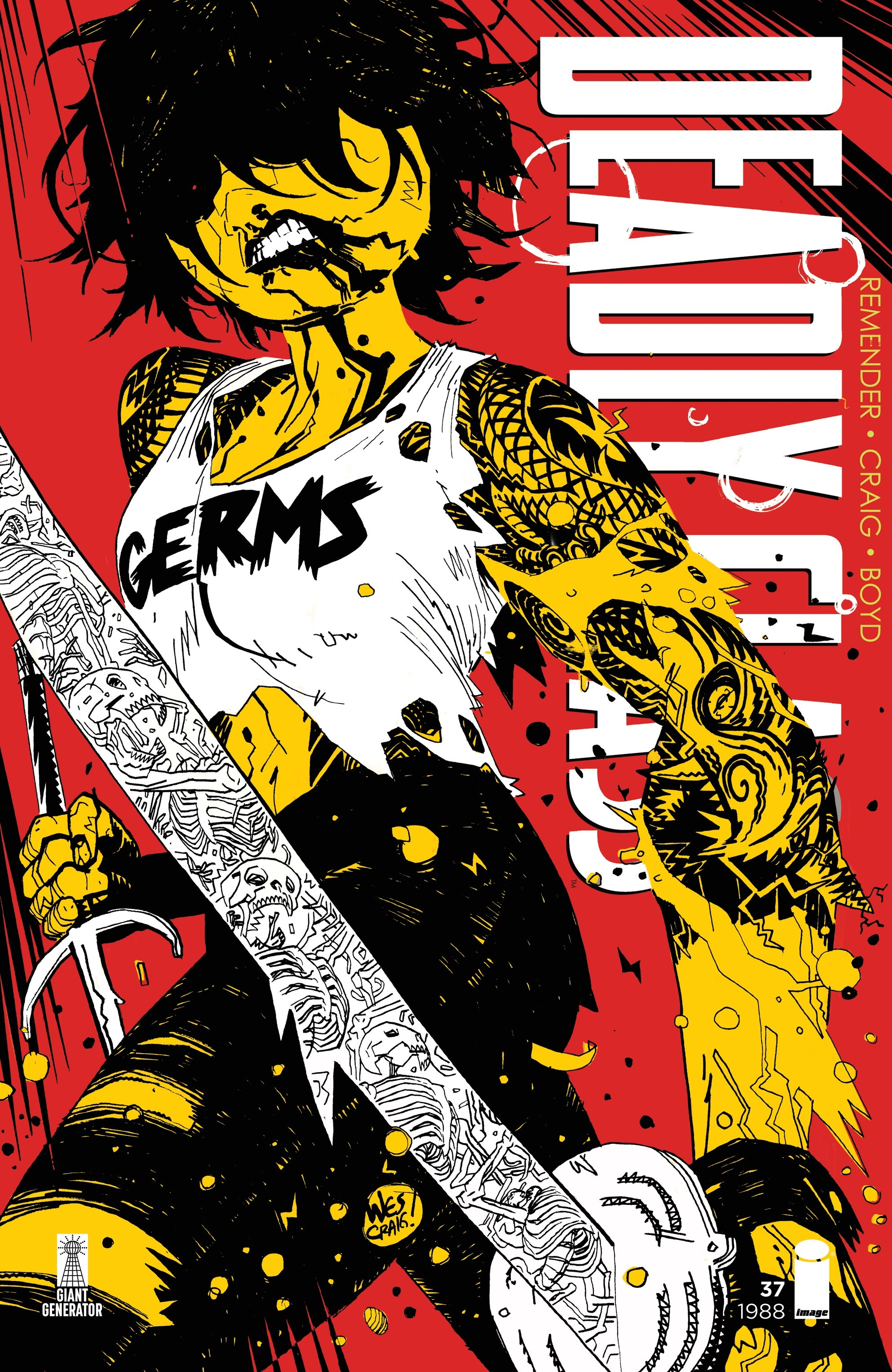 Deadly Class 37 Page 1