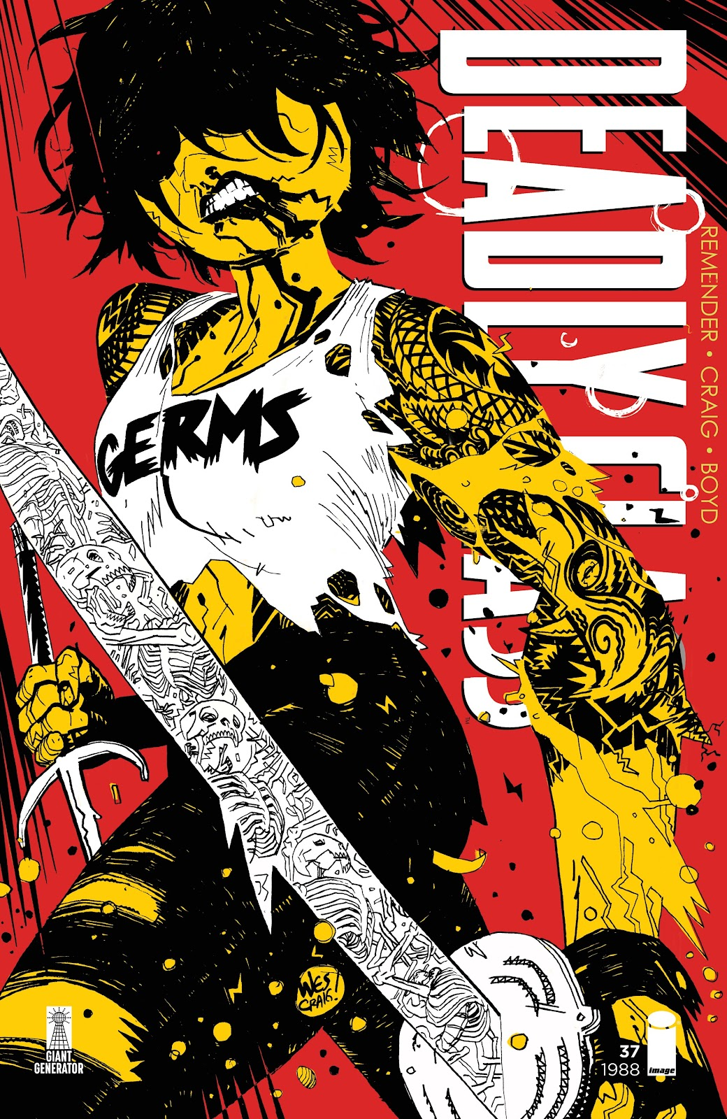 Read online Deadly Class comic -  Issue #37 - 1