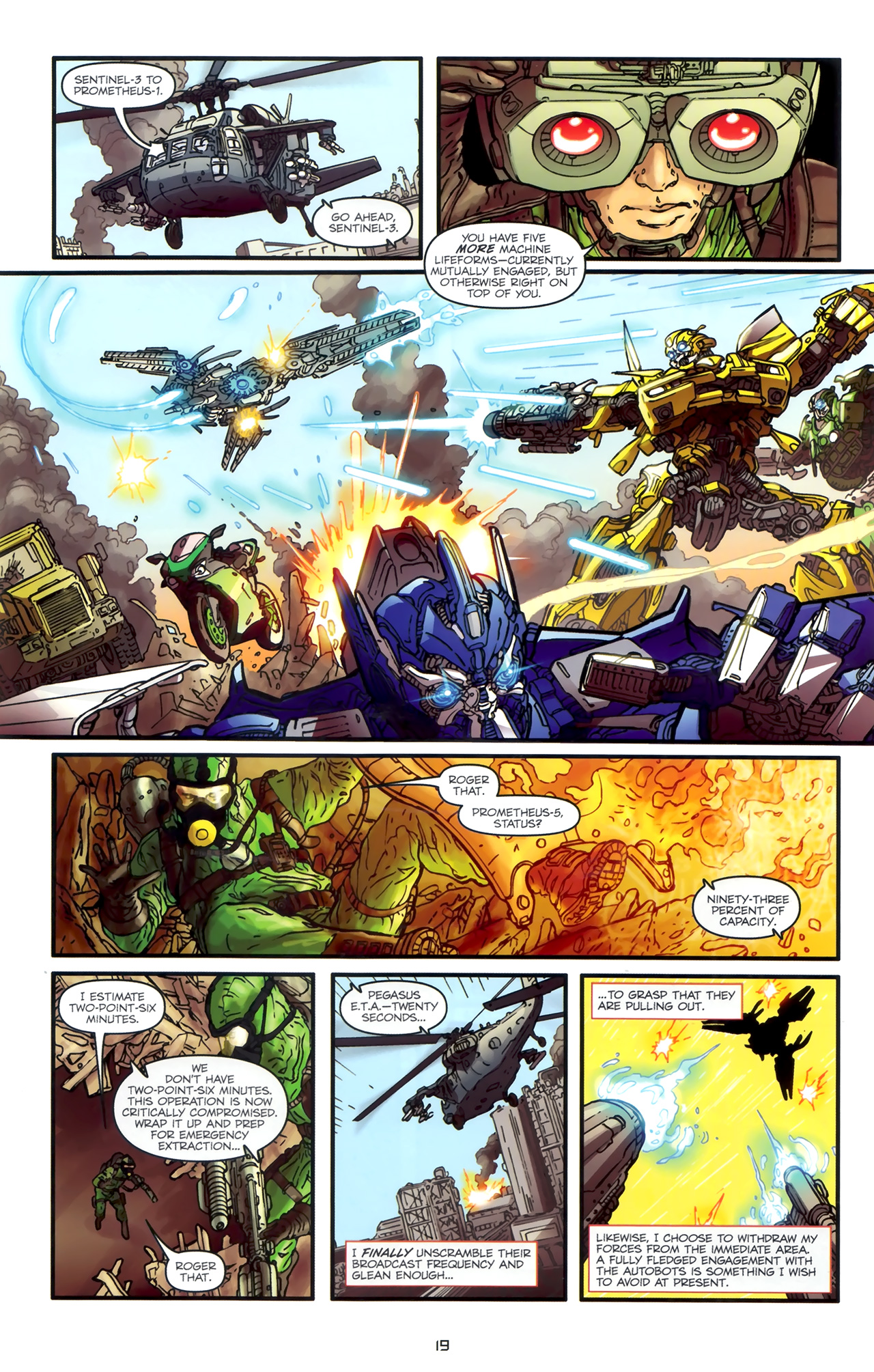 Read online Transformers: Nefarious comic -  Issue #1 - 23