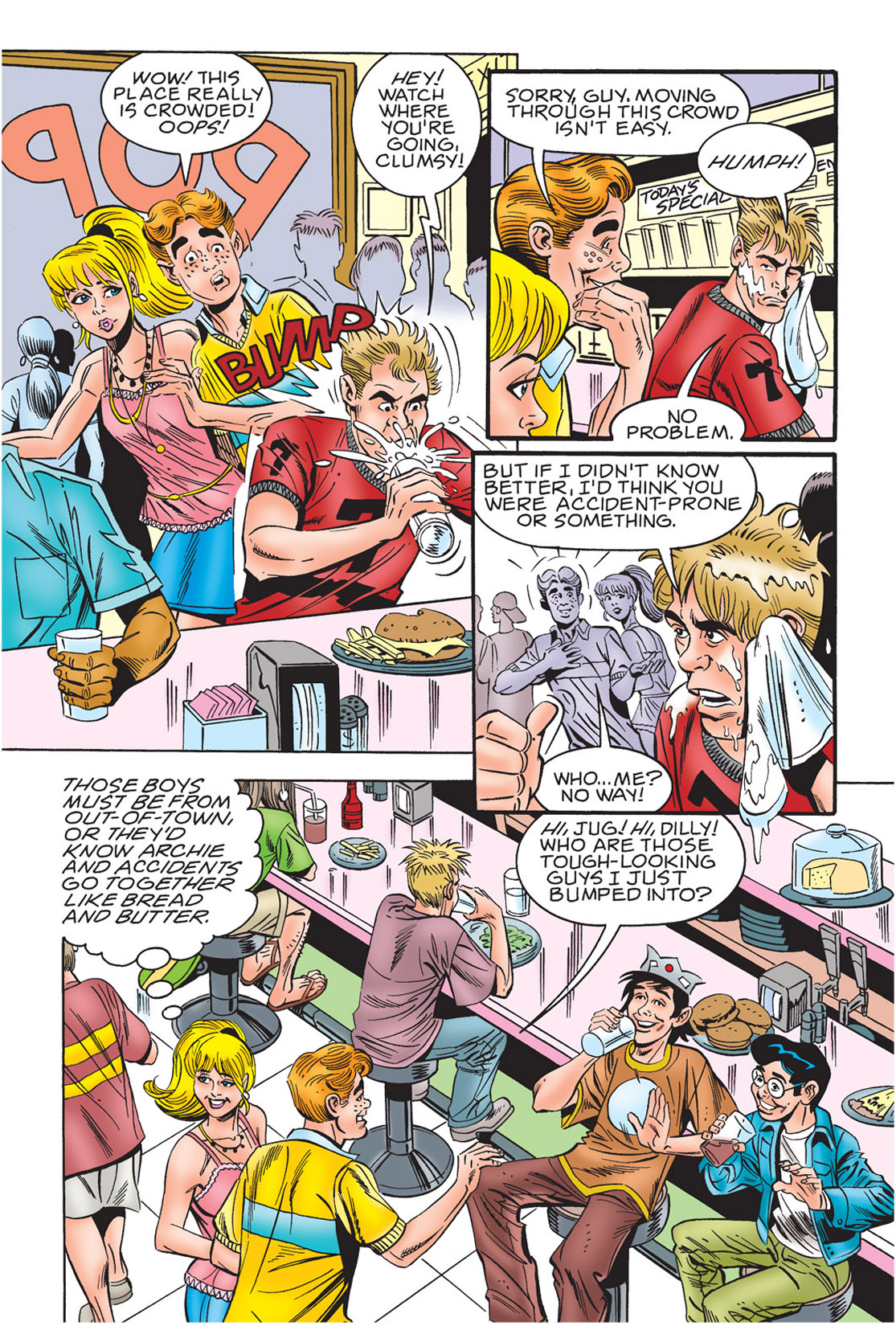 Read online Archie's New Look Series comic -  Issue #3 - 7