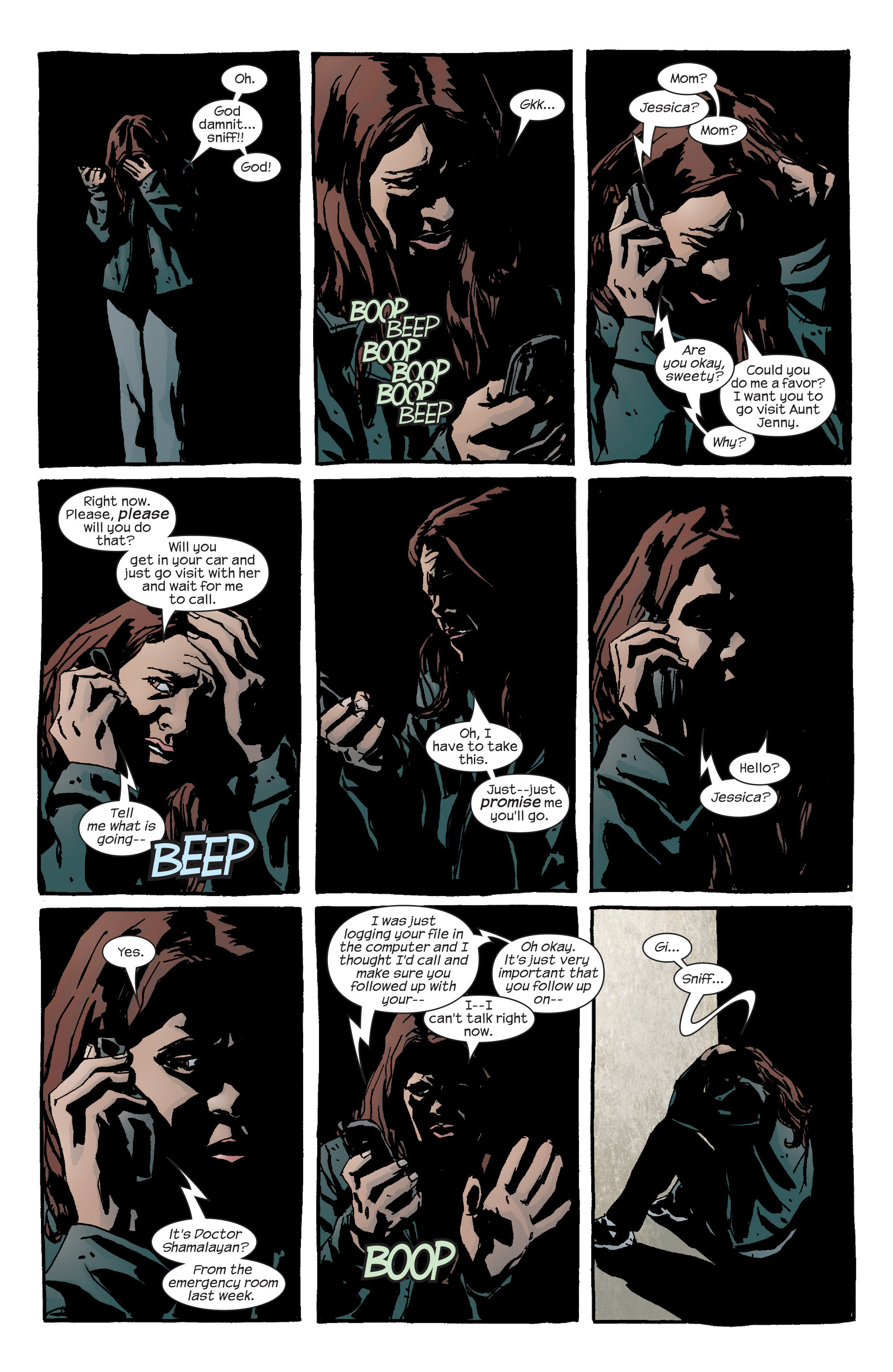 Read online Alias comic -  Issue #27 - 12