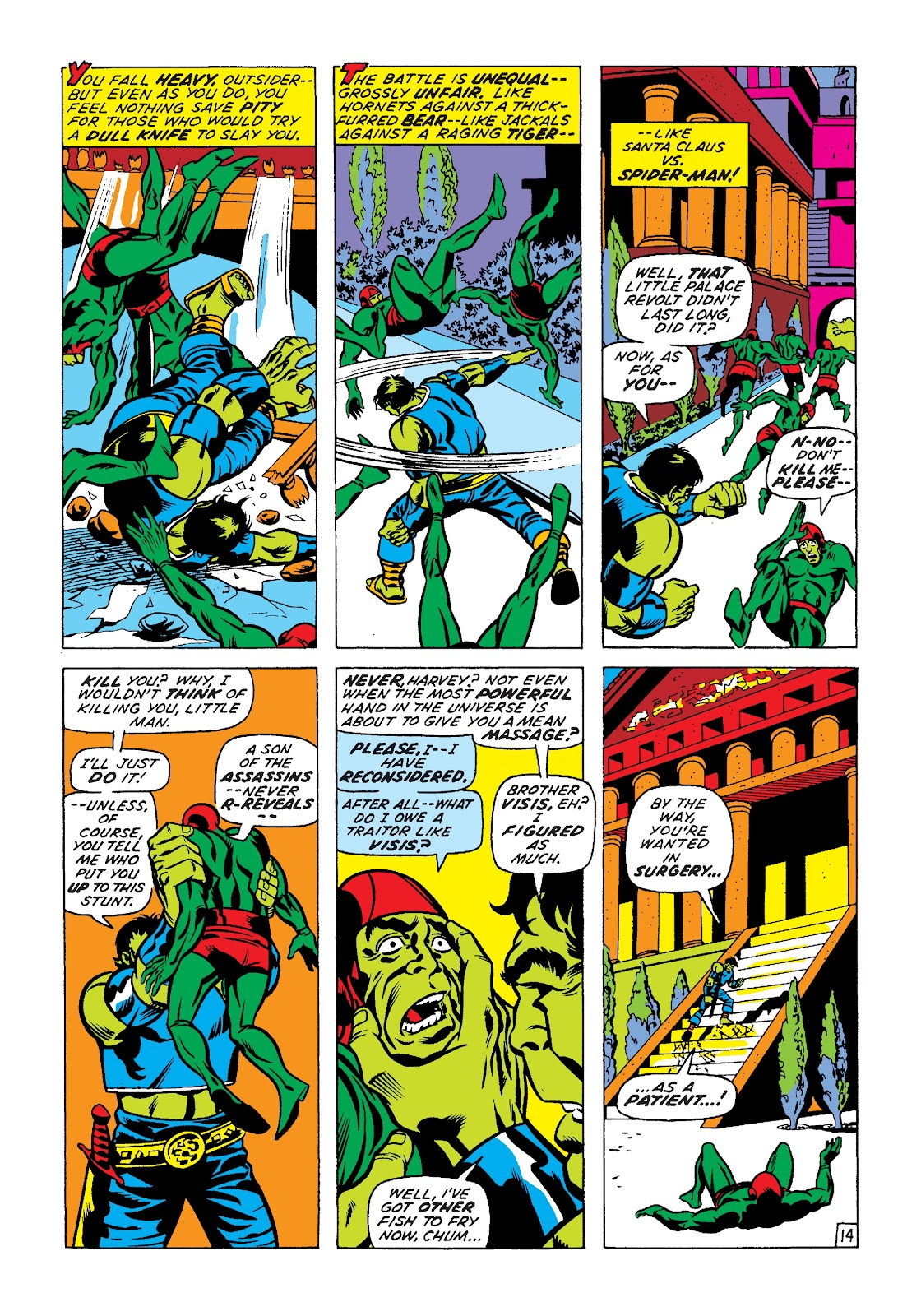 Read online Marvel Masterworks: The Incredible Hulk comic -  Issue # TPB 7 (Part 2) - 40