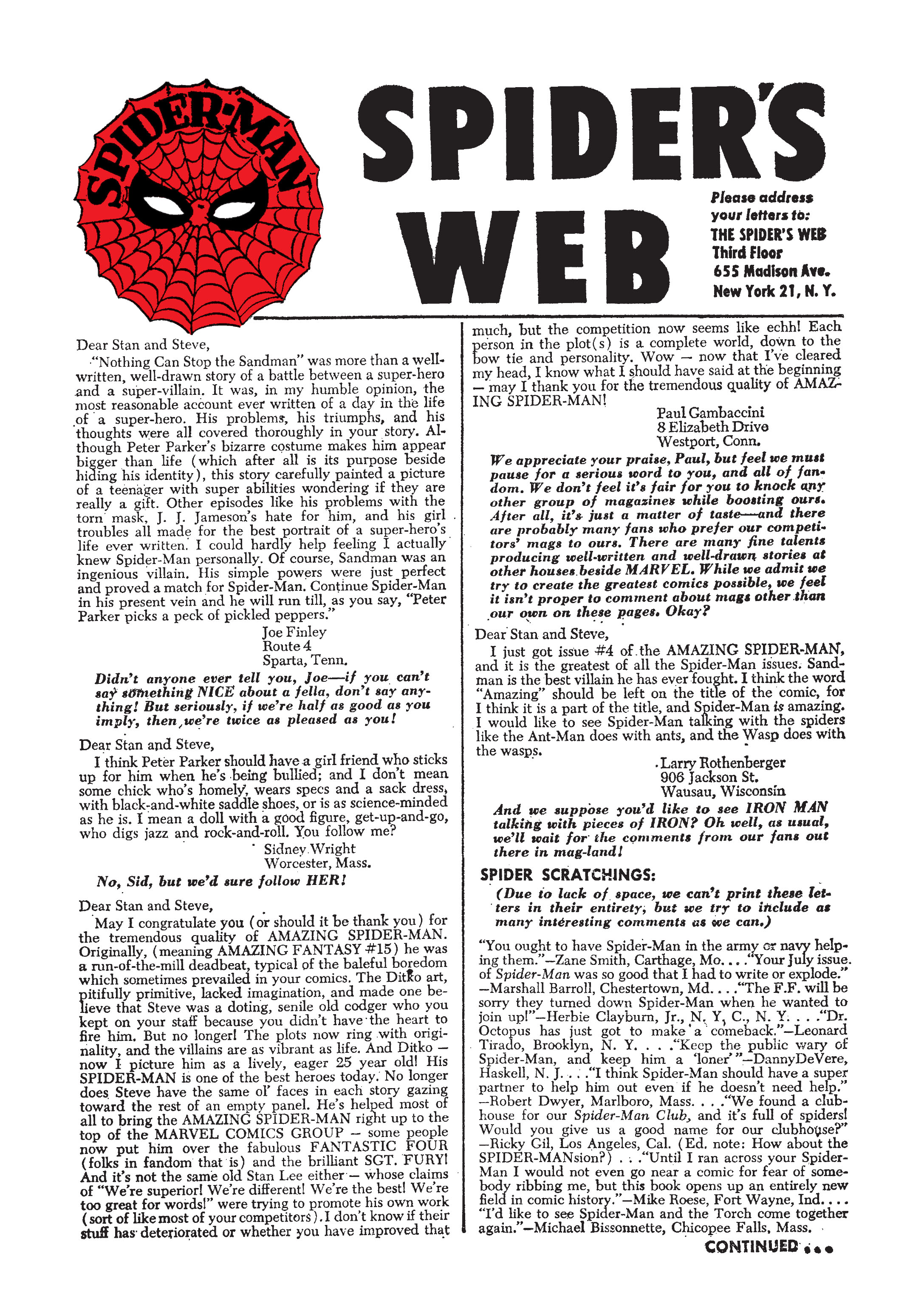 The Amazing Spider-Man (1963) 7 Page 22