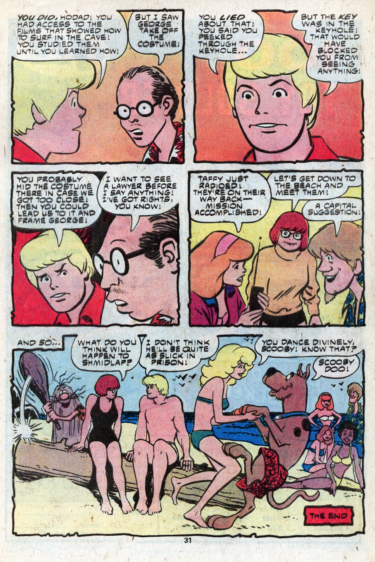 Read online Scooby-Doo (1977) comic -  Issue #9 - 33
