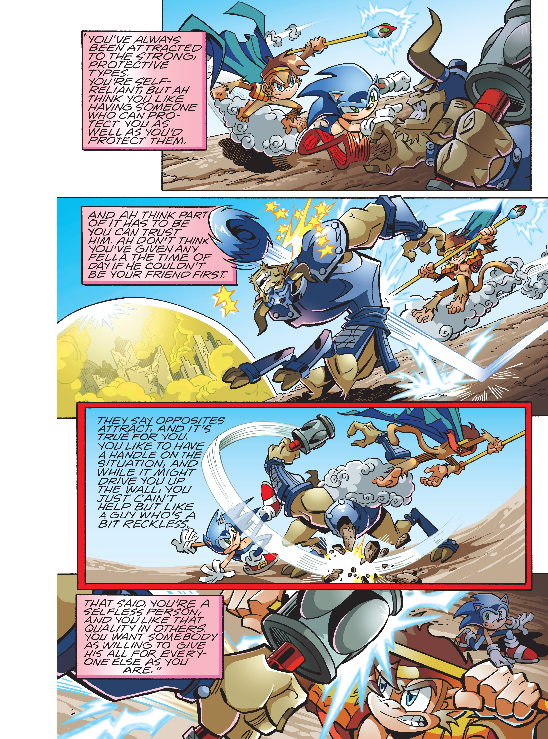 Read online Sonic Super Digest comic -  Issue #7 - 54