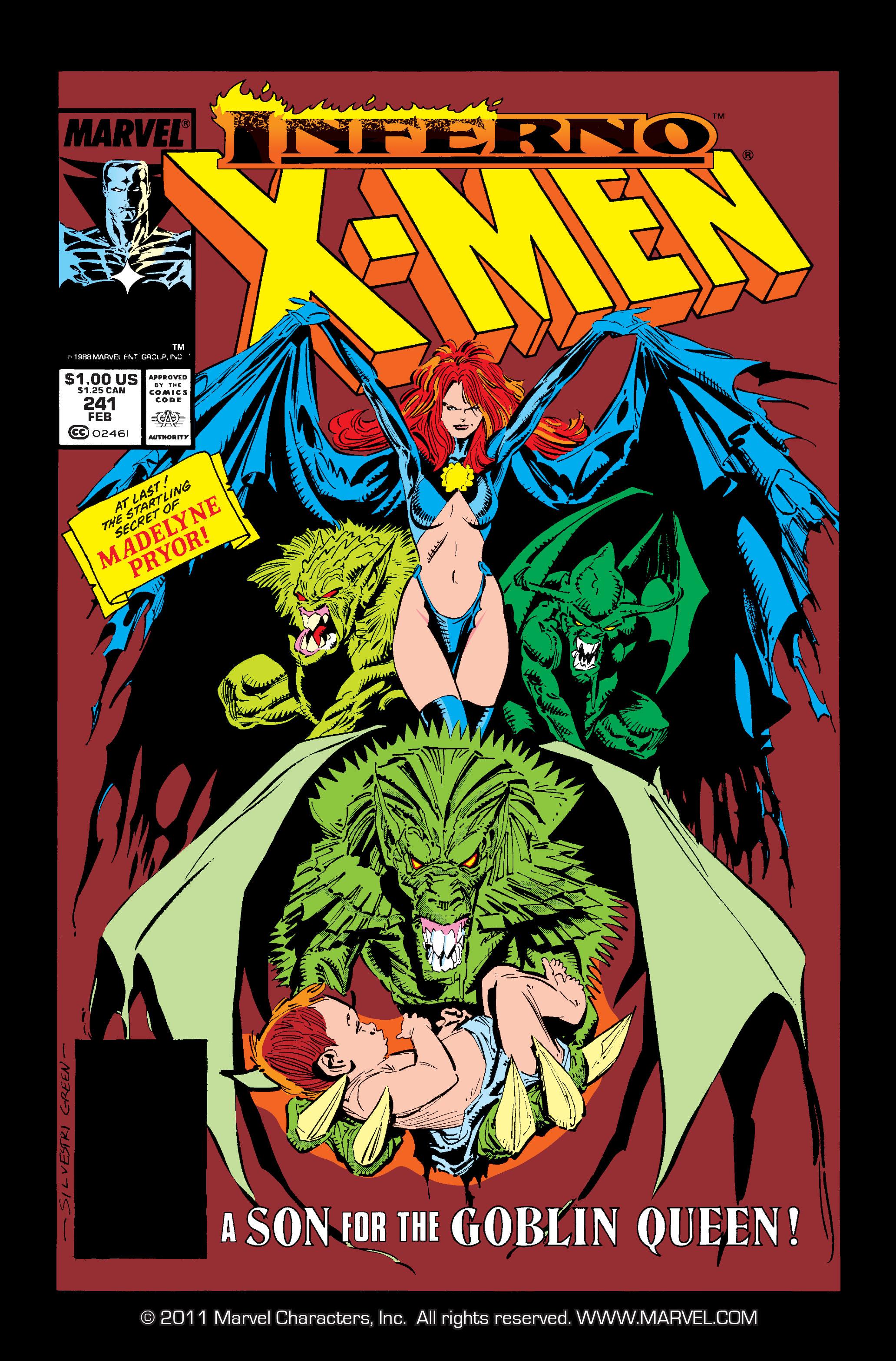 Uncanny X-Men (1963) 241 Page 1