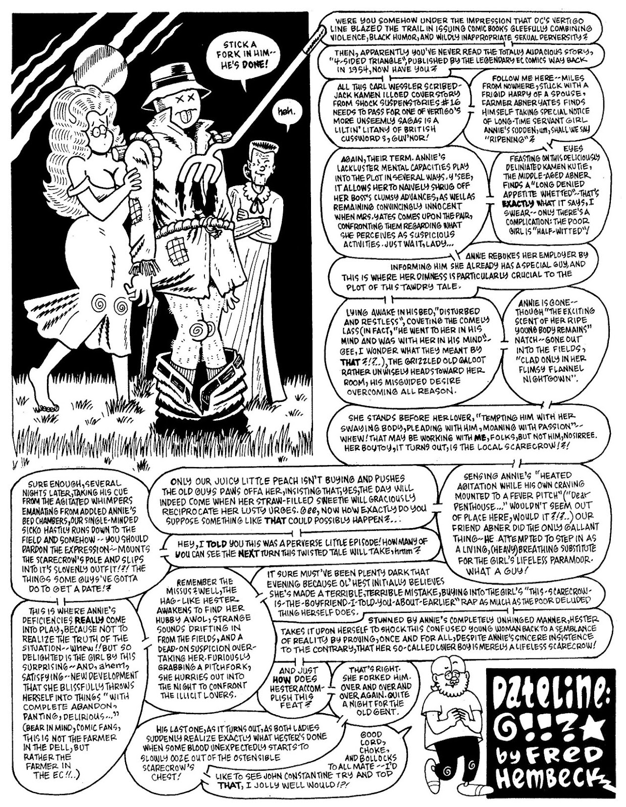 Read online The Nearly Complete Essential Hembeck Archives Omnibus comic -  Issue # TPB (Part 7) - 22