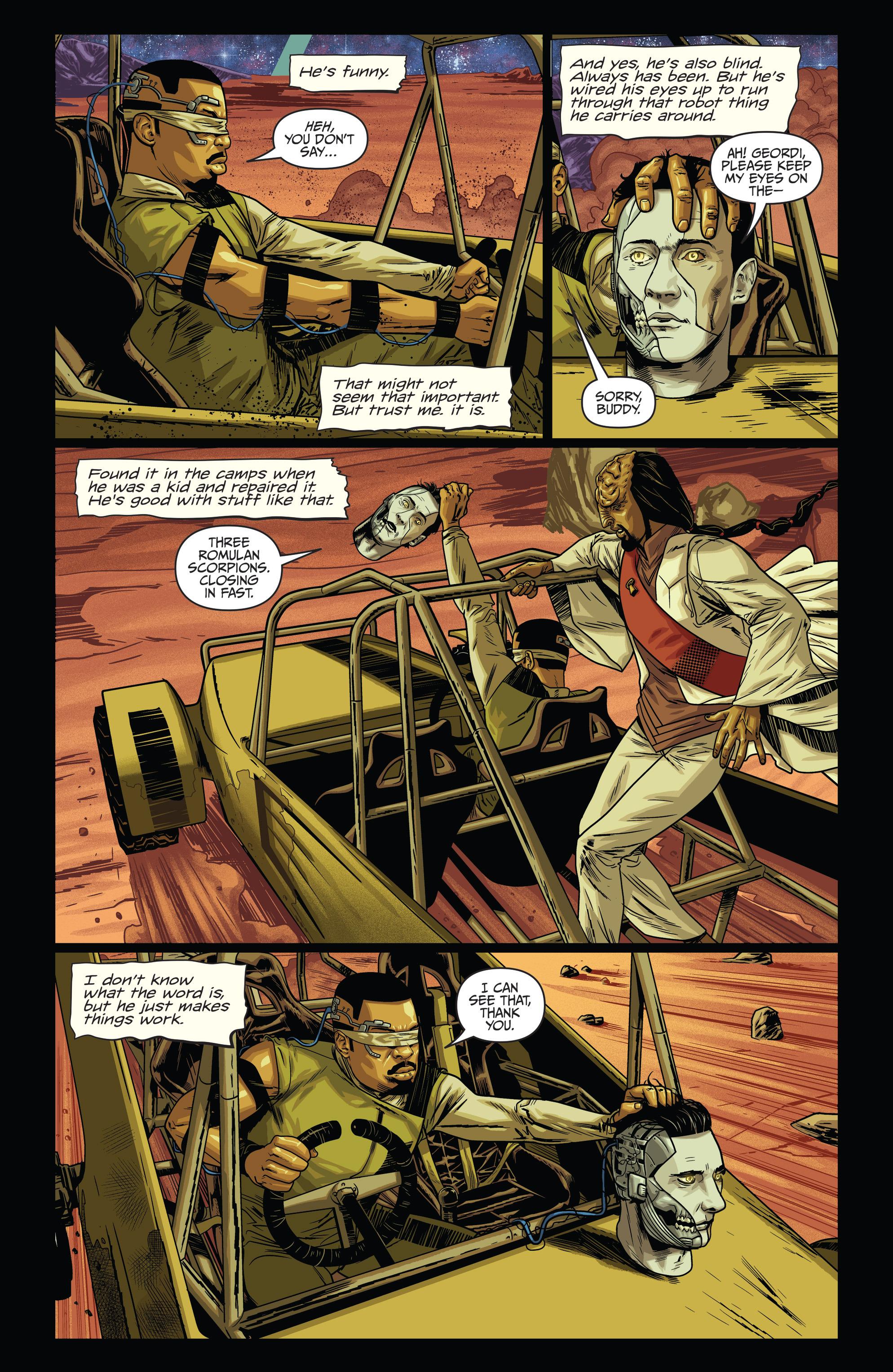 Read online Star Trek: Deviations comic -  Issue # Full - 6