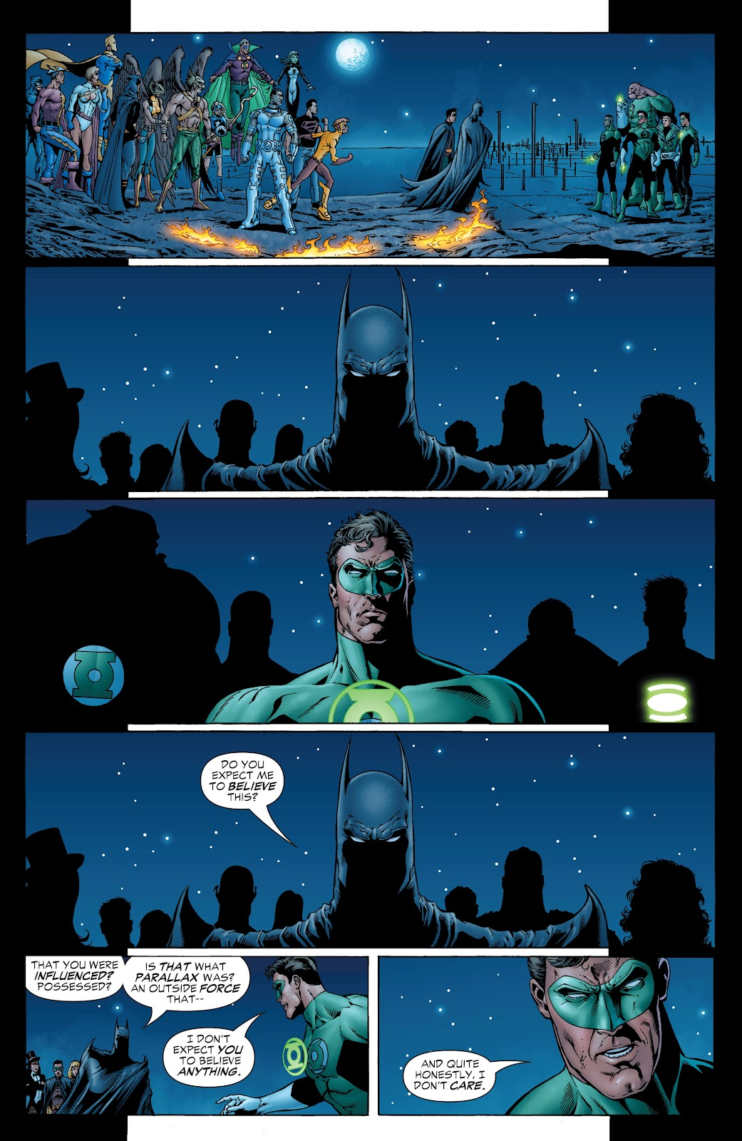 Read online Green Lantern by Geoff Johns comic -  Issue # TPB 1 (Part 2) - 48