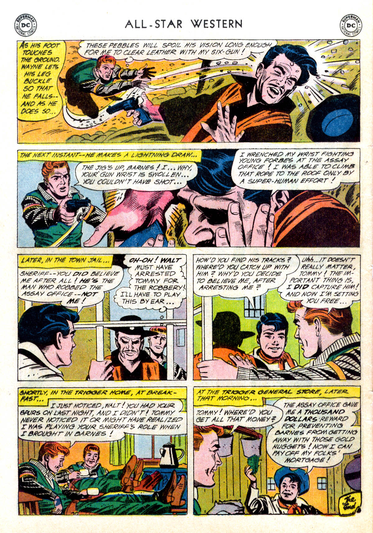 Read online All-Star Western (1951) comic -  Issue #116 - 32