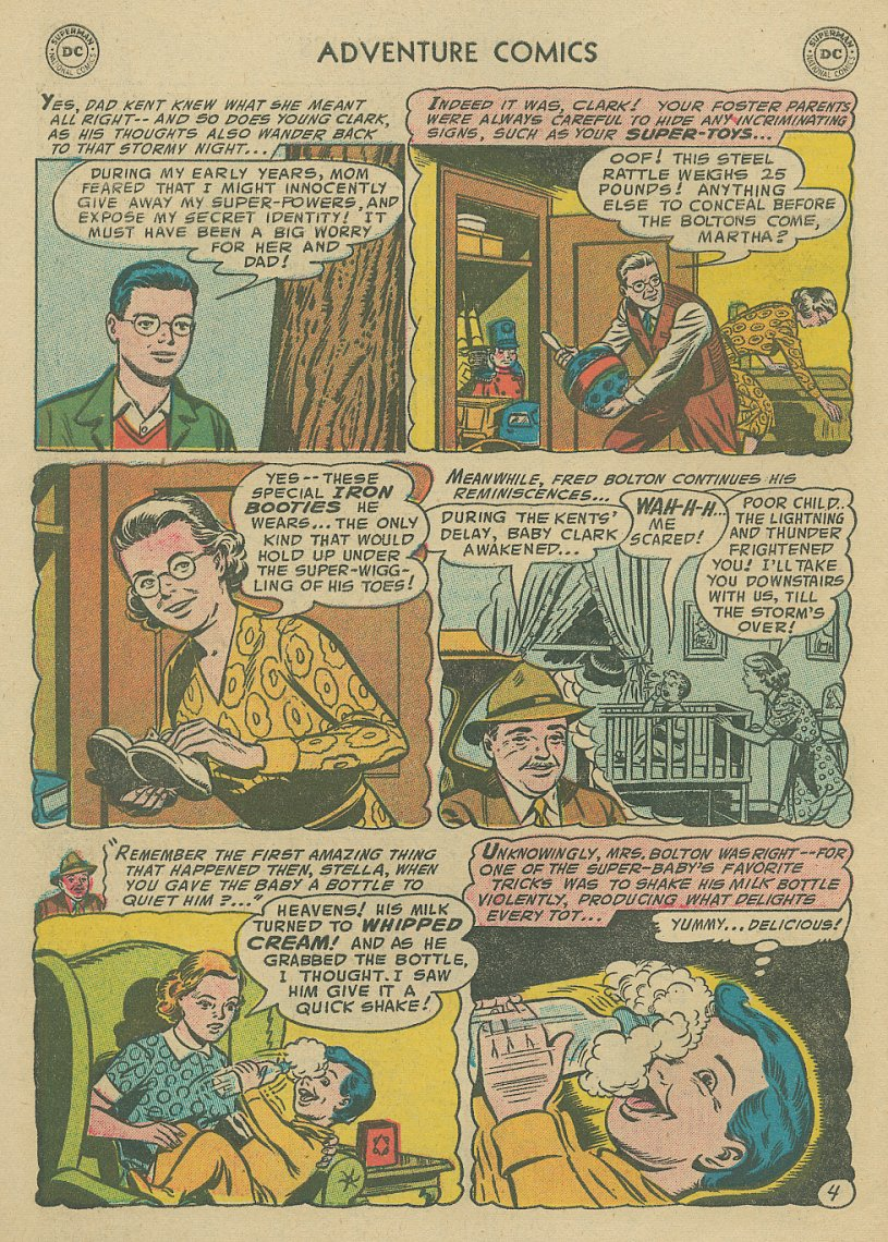Read online Adventure Comics (1938) comic -  Issue #221 - 5