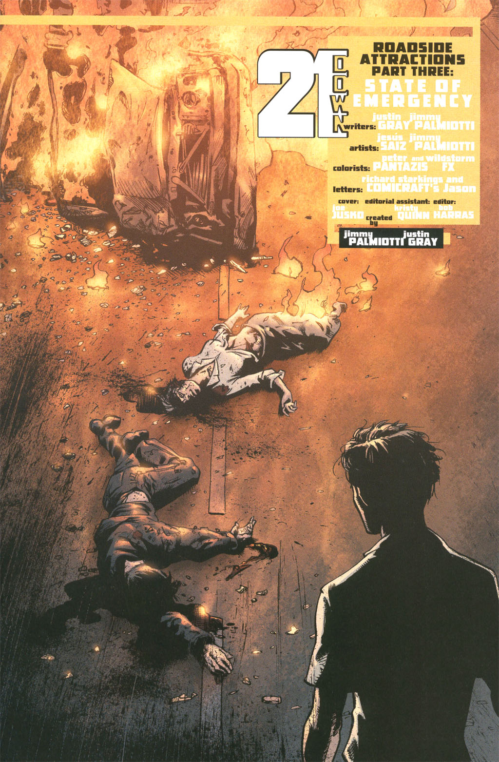 Read online 21 Down comic -  Issue #10 - 10