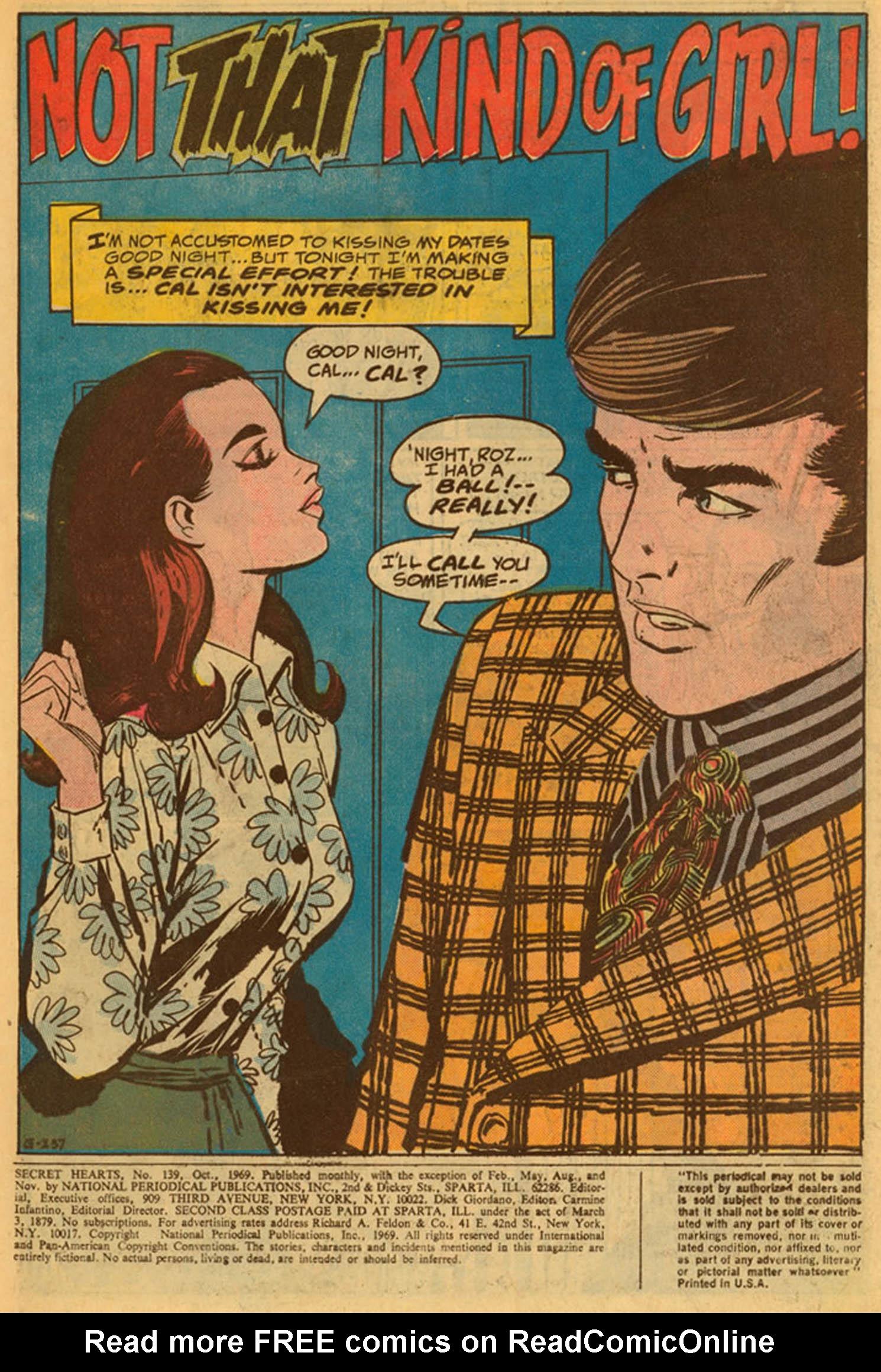 Read online Secret Hearts comic -  Issue #139 - 3