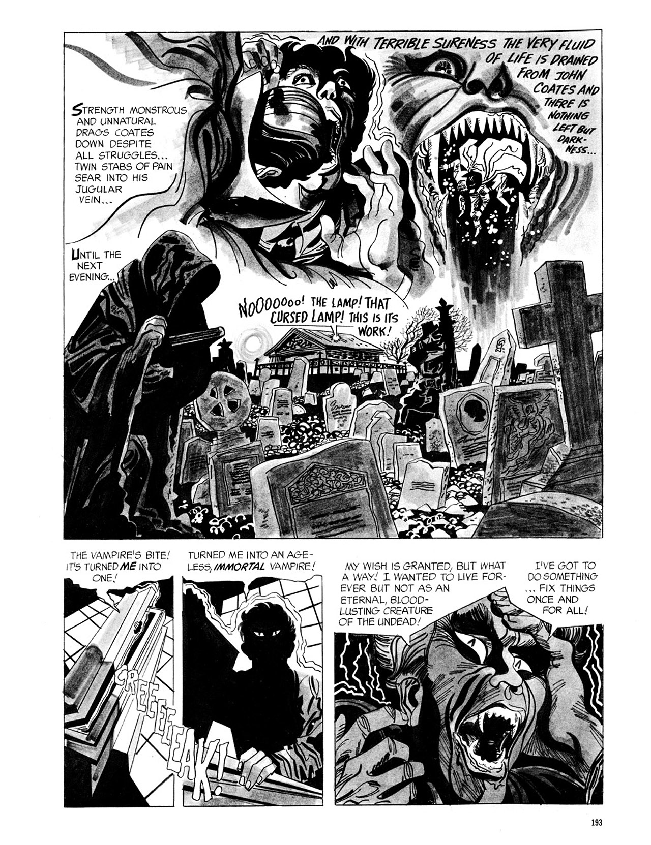 Read online Eerie Archives comic -  Issue # TPB 2 - 194