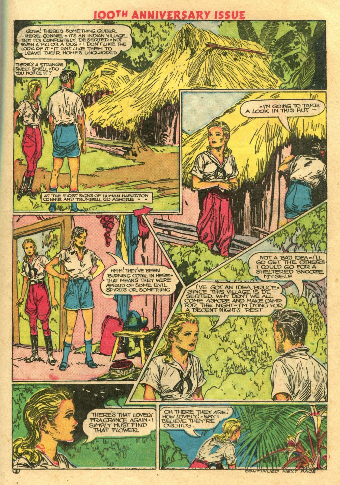 Read online Famous Funnies comic -  Issue #100 - 21