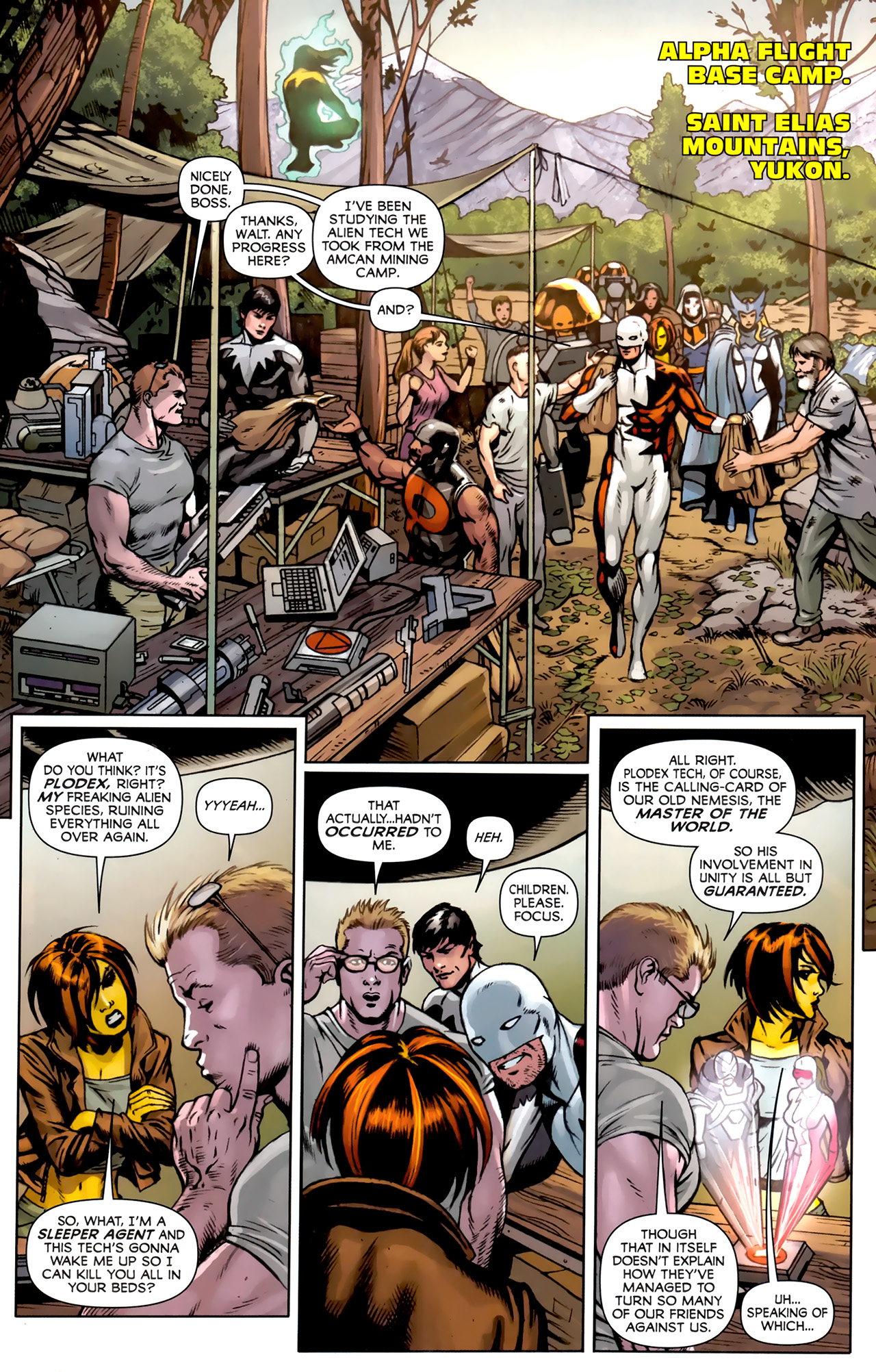 Read online Alpha Flight (2011) comic -  Issue #5 - 16