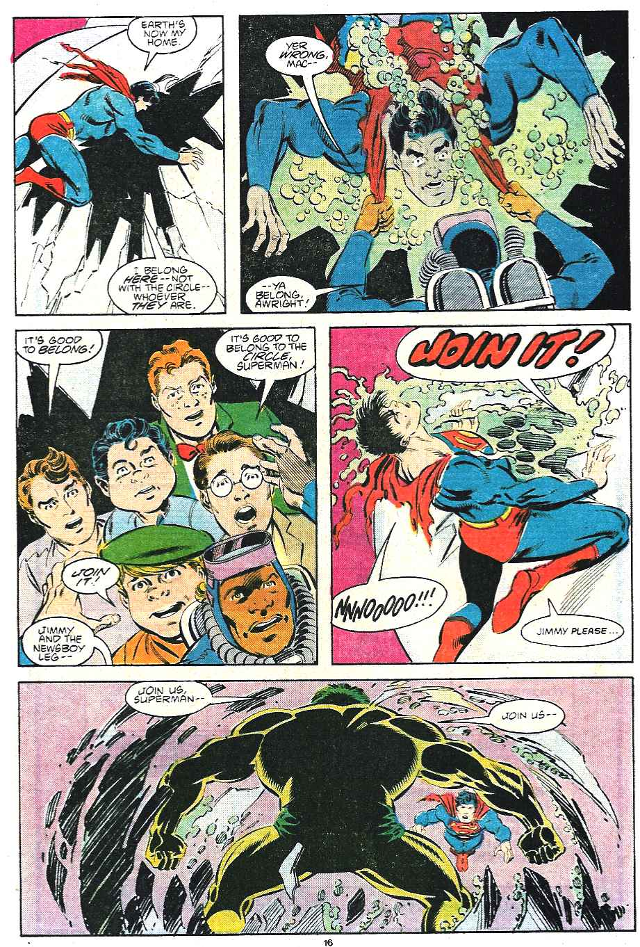 Read online Adventures of Superman (1987) comic -  Issue #435 - 17