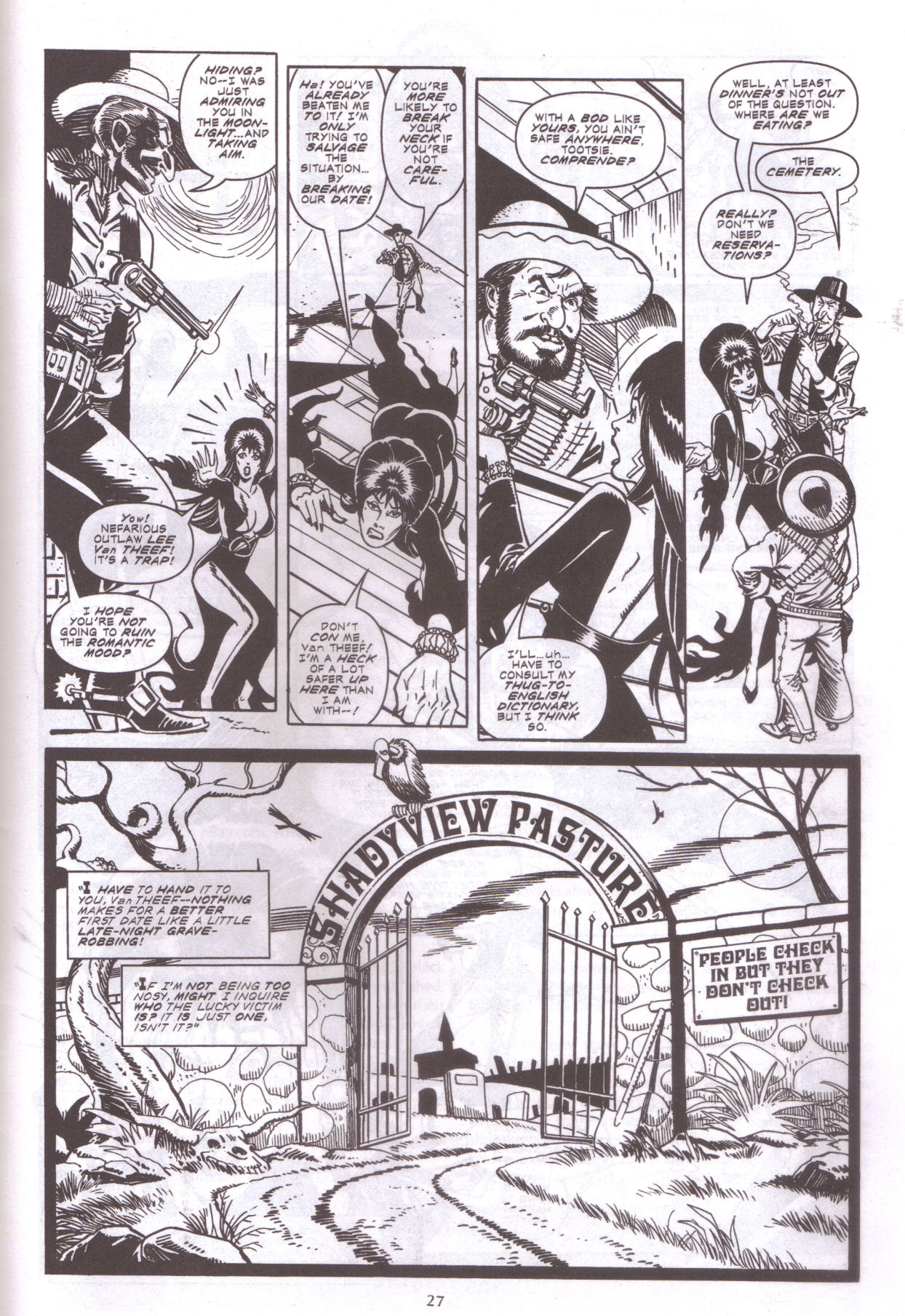 Read online Elvira, Mistress of the Dark comic -  Issue #159 - 29