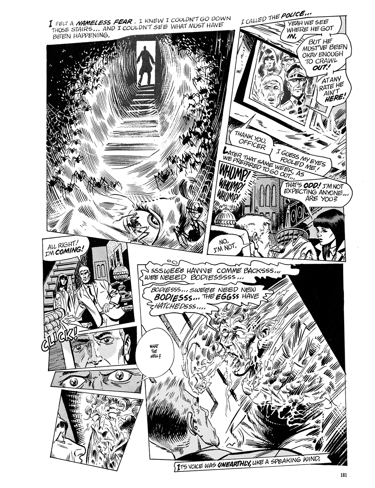Read online Eerie Archives comic -  Issue # TPB 5 - 182