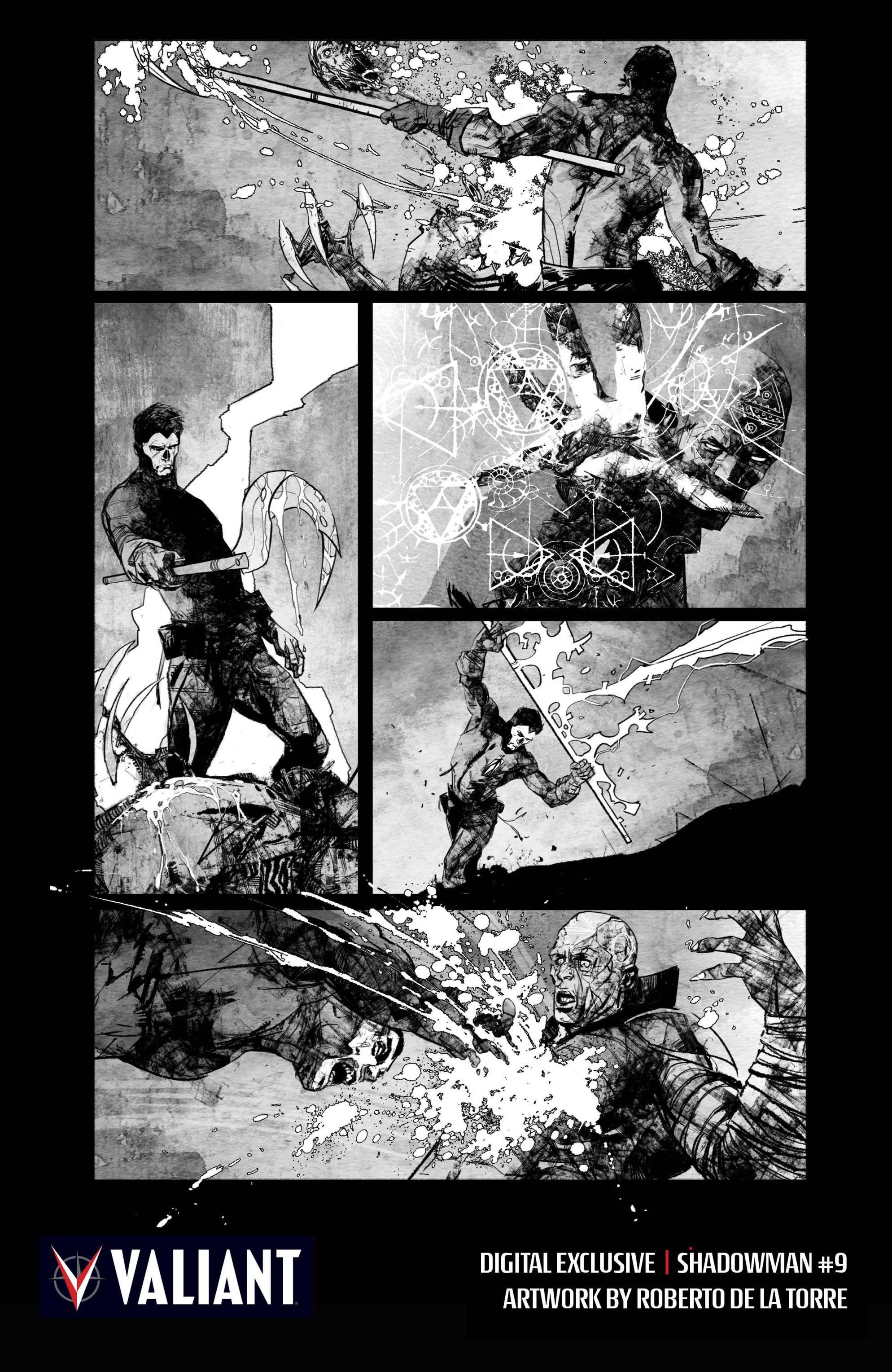 Read online Shadowman (2012) comic -  Issue #9 - 27