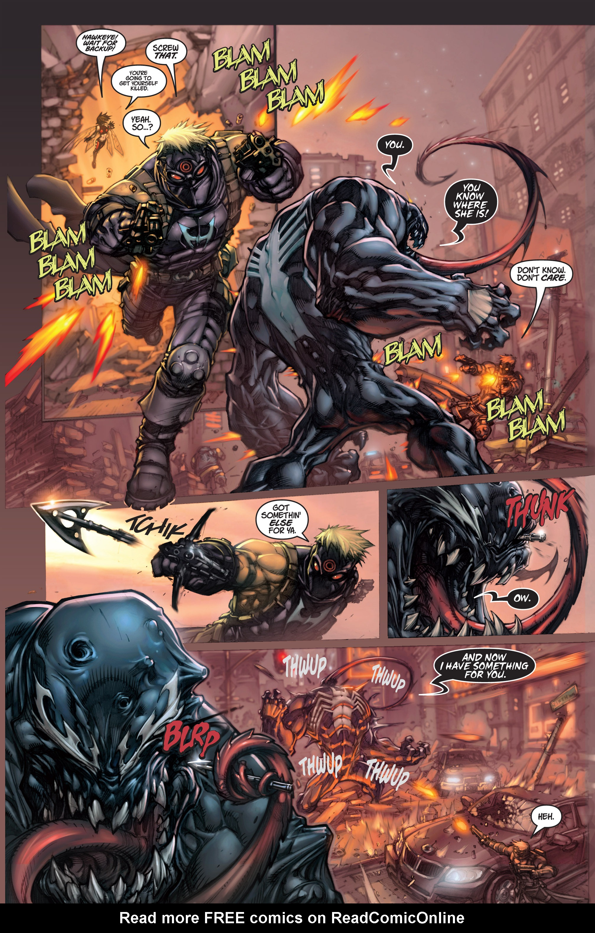 Read online Ultimates 3 comic -  Issue #1 - 5