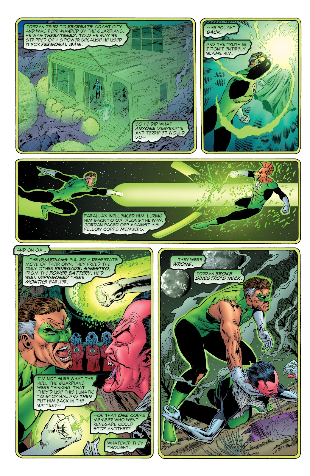 Read online Green Lantern by Geoff Johns comic -  Issue # TPB 1 (Part 1) - 83