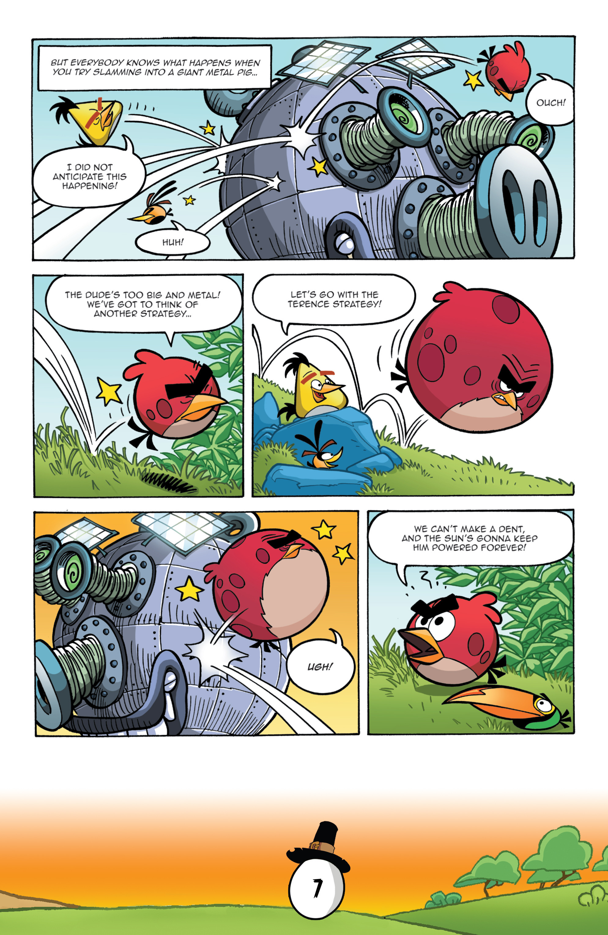 Read online Angry Birds Comics (2016) comic -  Issue #11 - 9