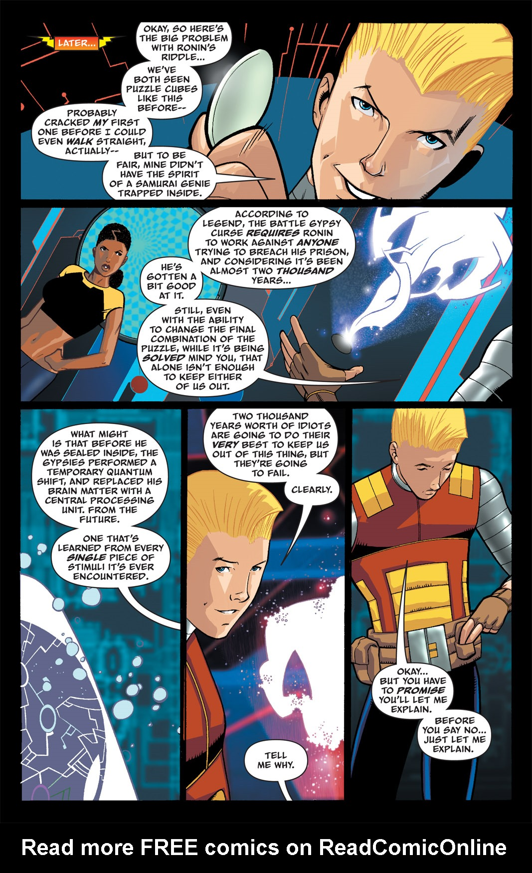 Read online The Many Adventures of Miranda Mercury: Time Runs Out comic -  Issue # TPB - 26