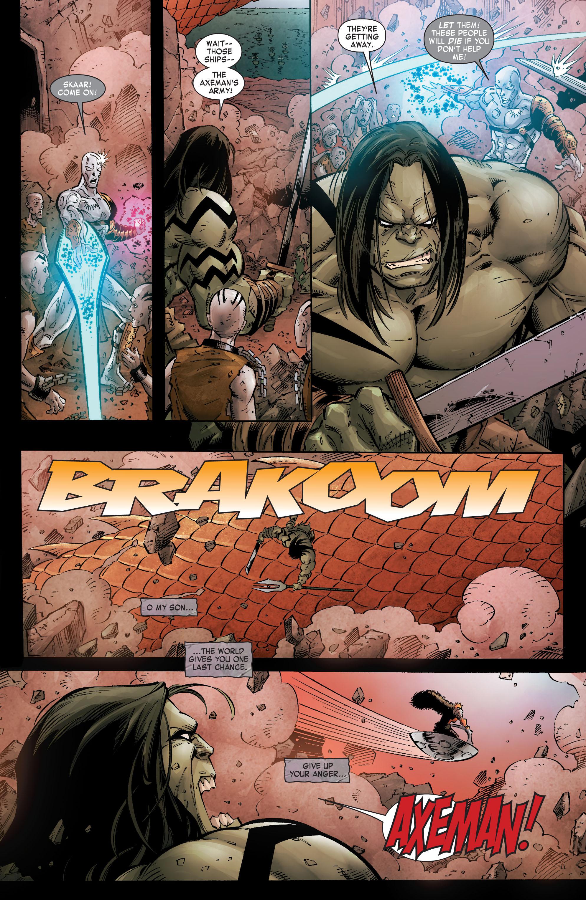 Read online Skaar: Son of Hulk comic -  Issue #8 - 20