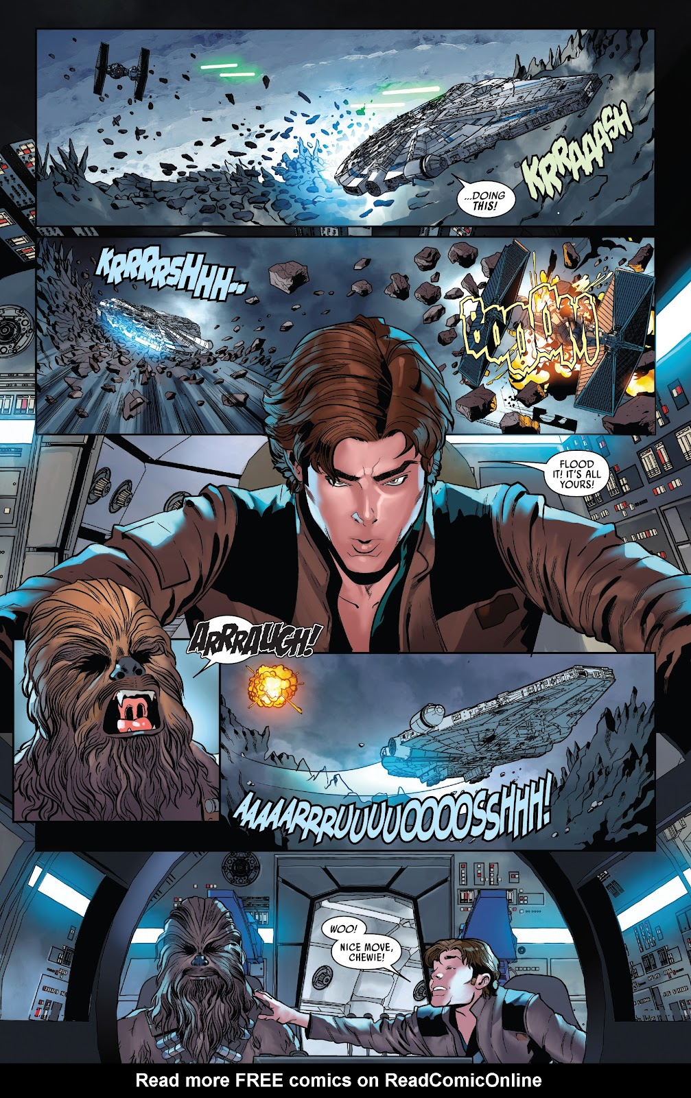 Read online Solo: A Star Wars Story Adaptation comic -  Issue #5 - 8